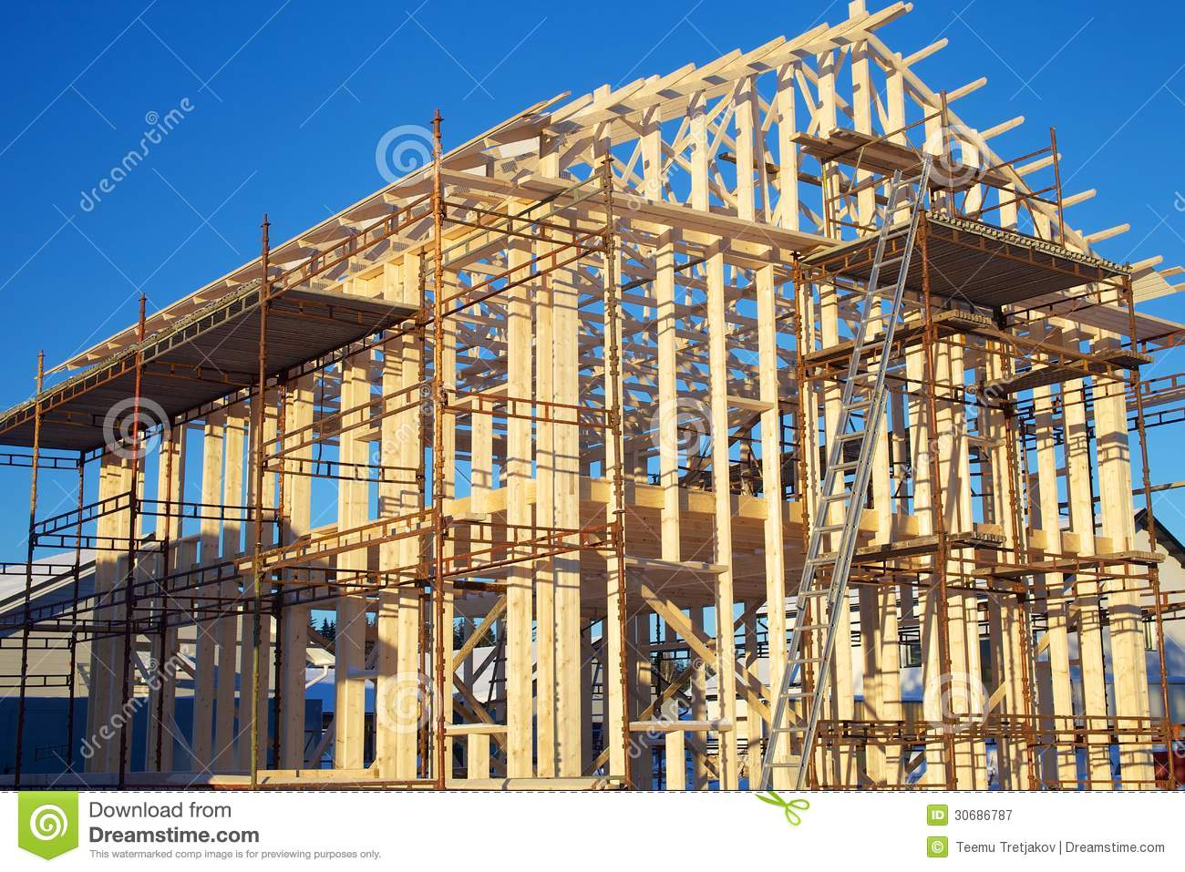 Home Construction Site Royalty Free Stock Photography ...