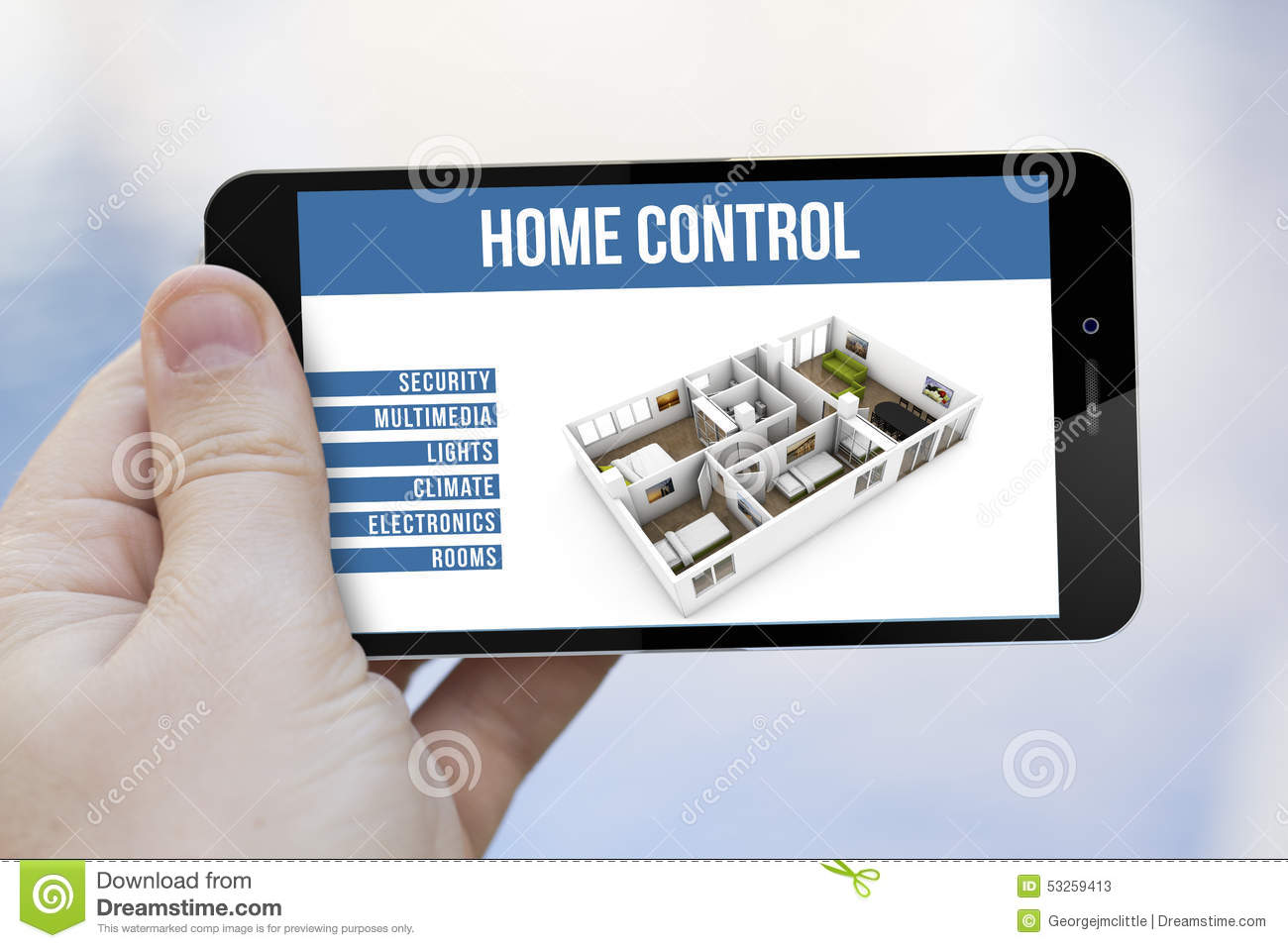 Smartphone Home Control control home with phone. broadlink rm prorm2 smart home automation