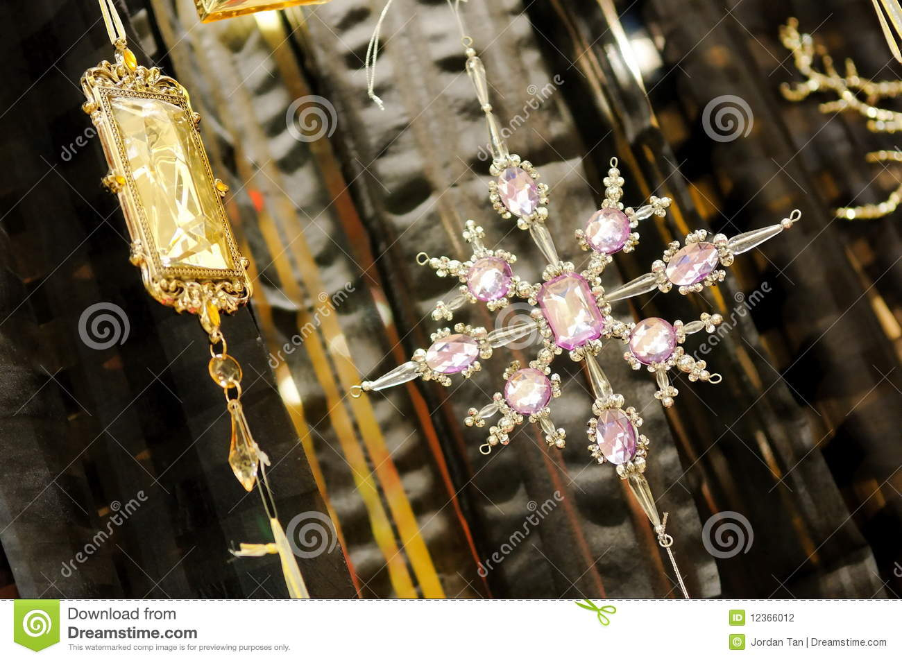 Home Decor Crystals Stock Photography Image 12366012