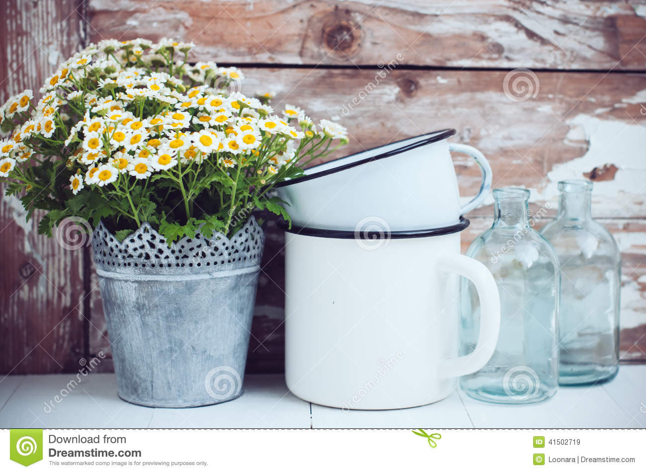 Home Decor Stock Image Image Of Design Country Mugs 41502719