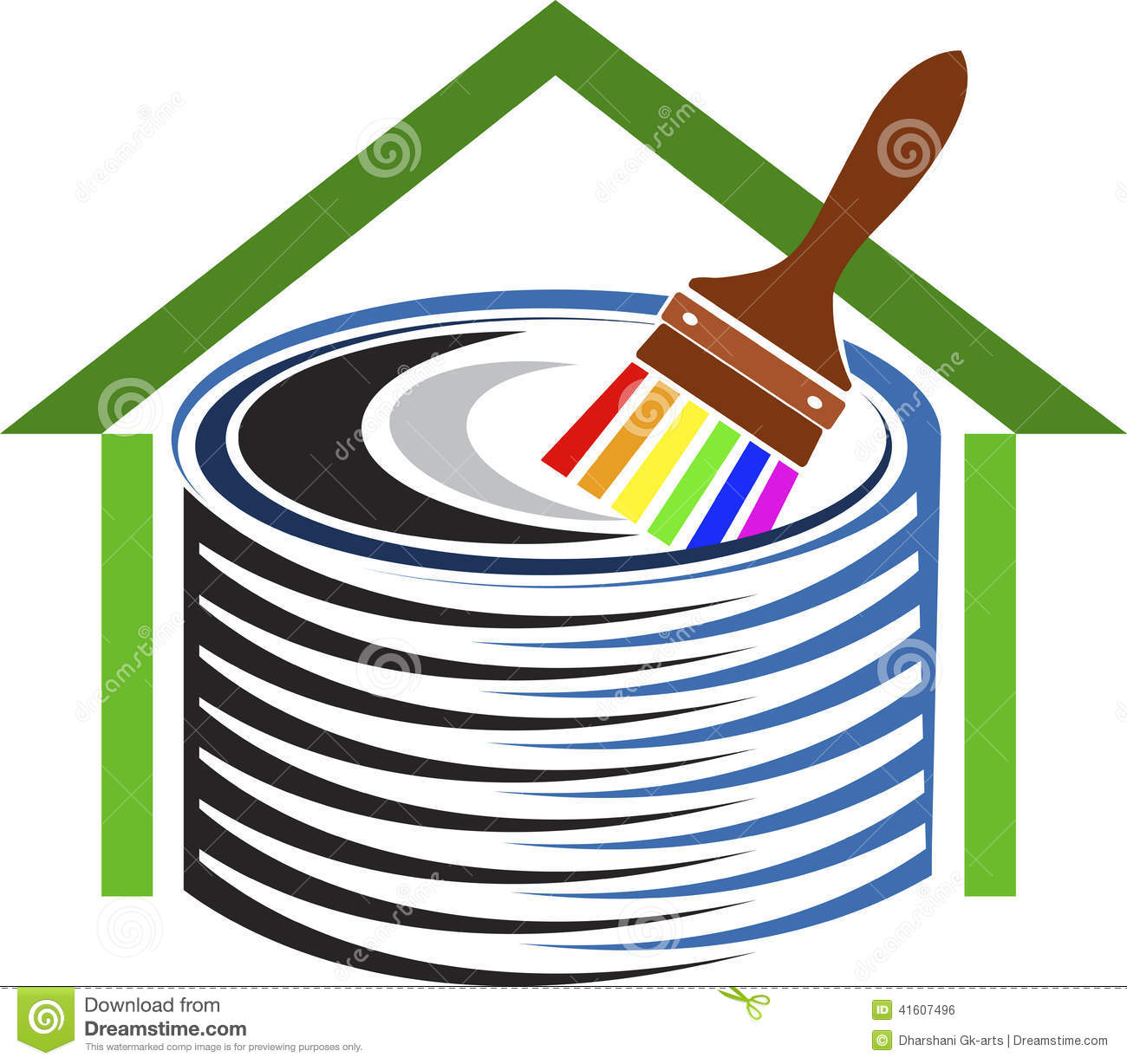 Home decor logo stock vector image 41607496 for Home decor logo 99design
