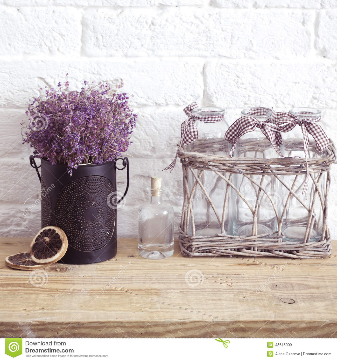 Home Decor Stock Image Image Of Life Lavender Living 45615909