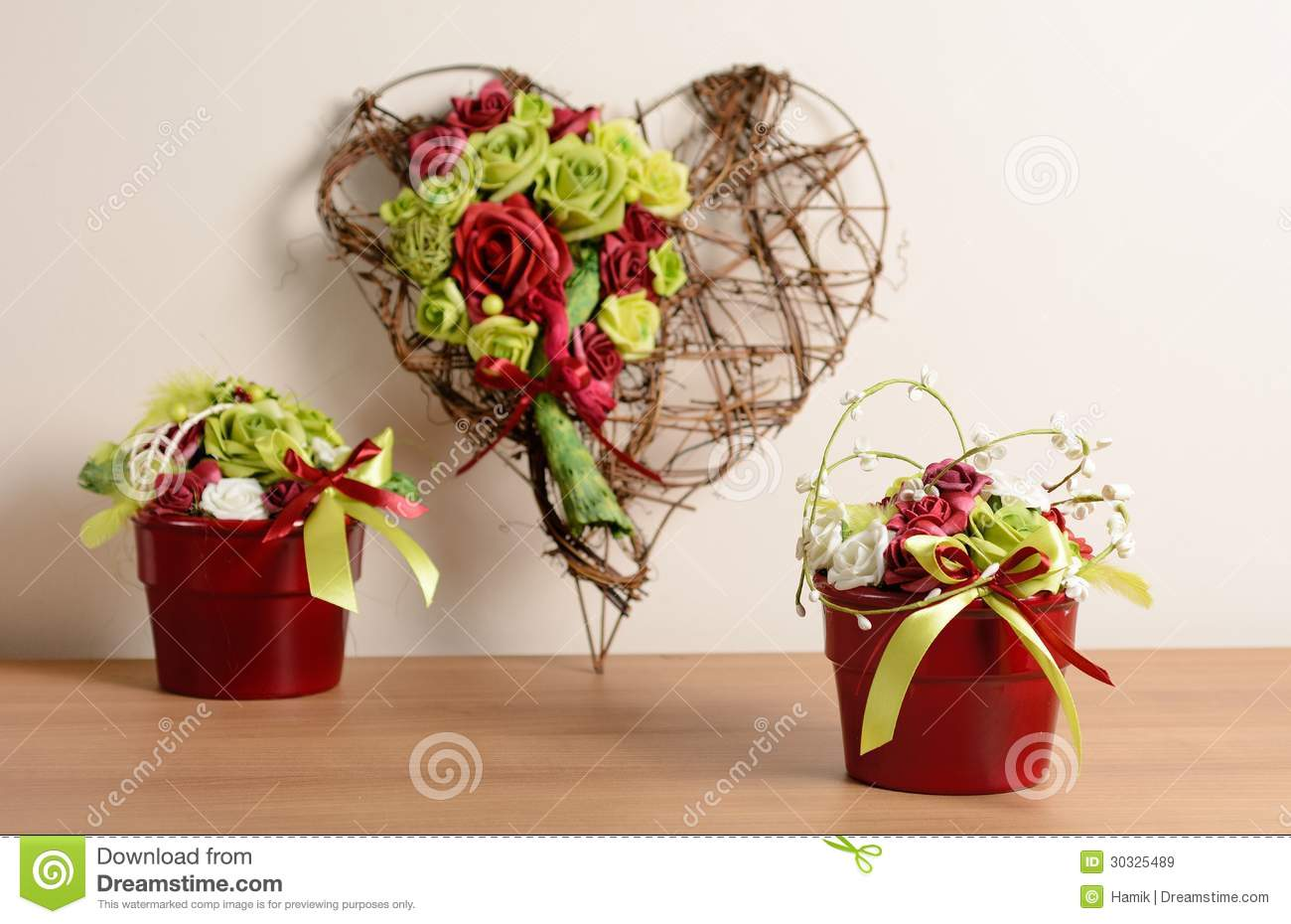 Home decoration royalty free stock images image 30325489 for Heart decorations home