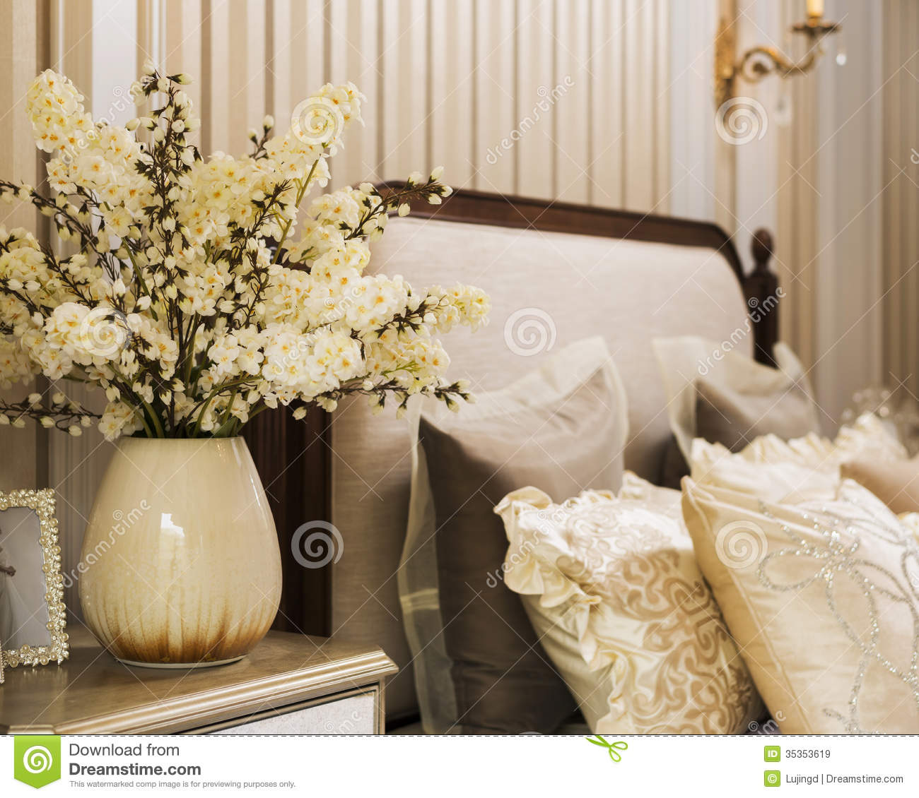 Home decoration stock image image of countryside china for Well decorated bedroom