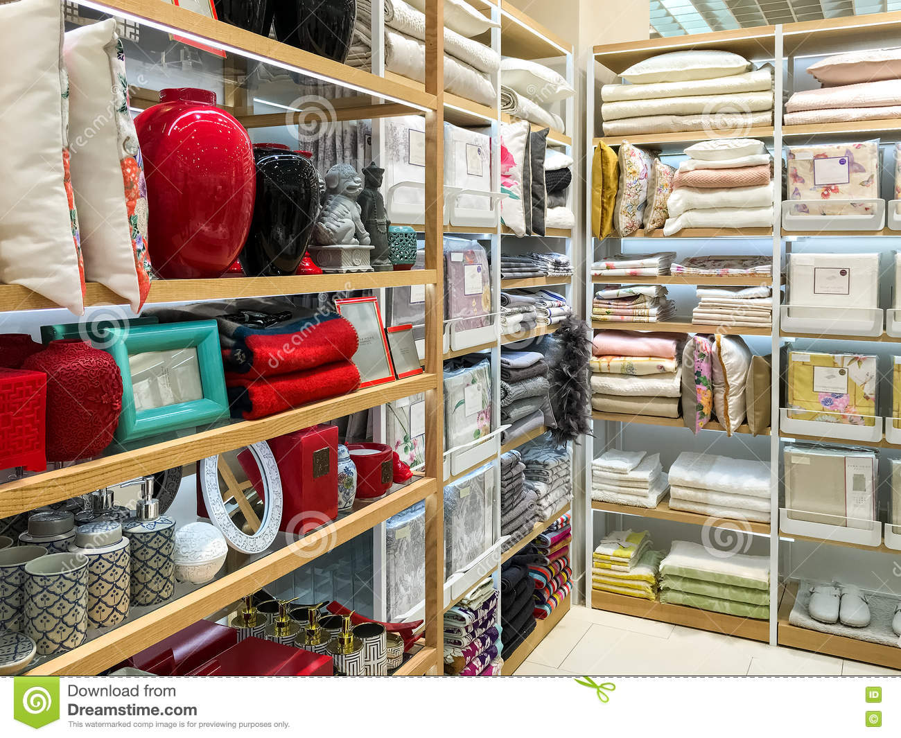 Home Decorations For Sale In Home Appliances Decoration Store Editorial Stock Photo Image