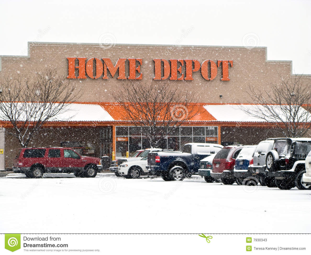 Home Depot Editorial Stock Photo - Image: 7930343