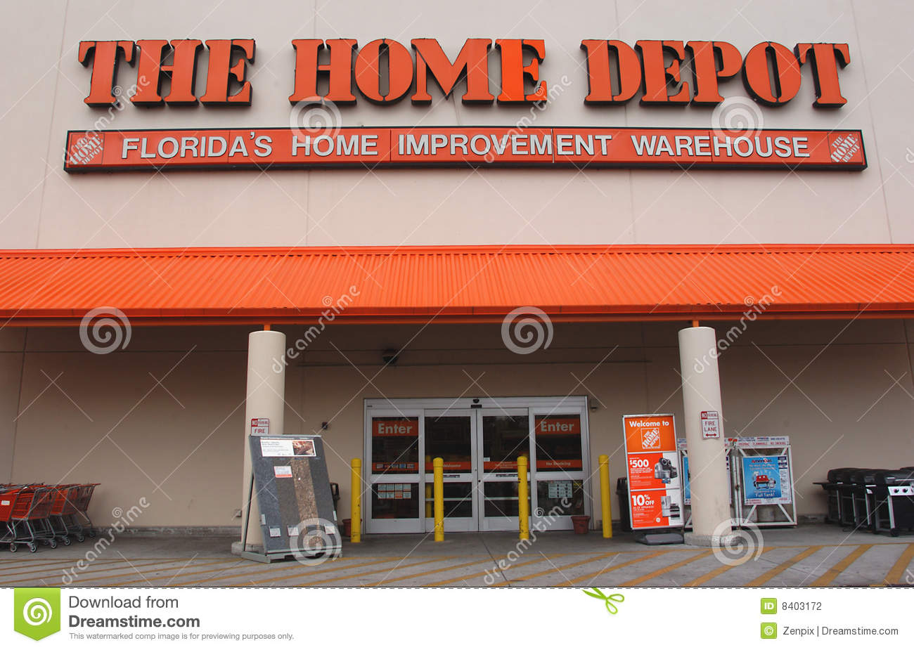 Home Depot Cuts 7000 Jobs And Closing Stores Editorial