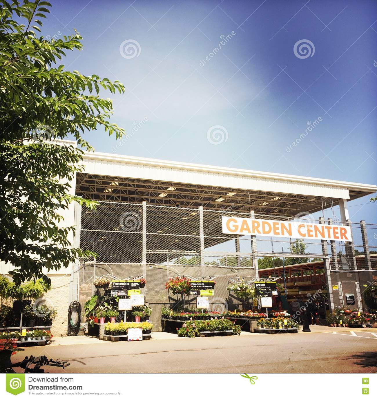 Home Depot Garden Center Editorial Photo 24475429