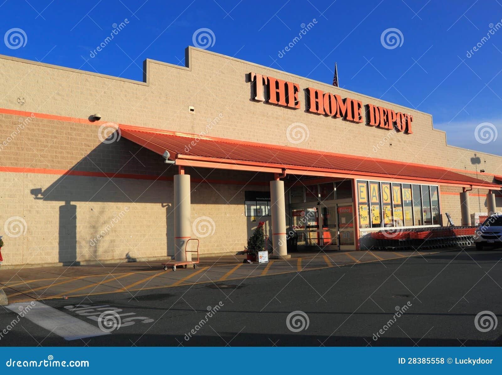 Home Depot memorizza la parte anteriore