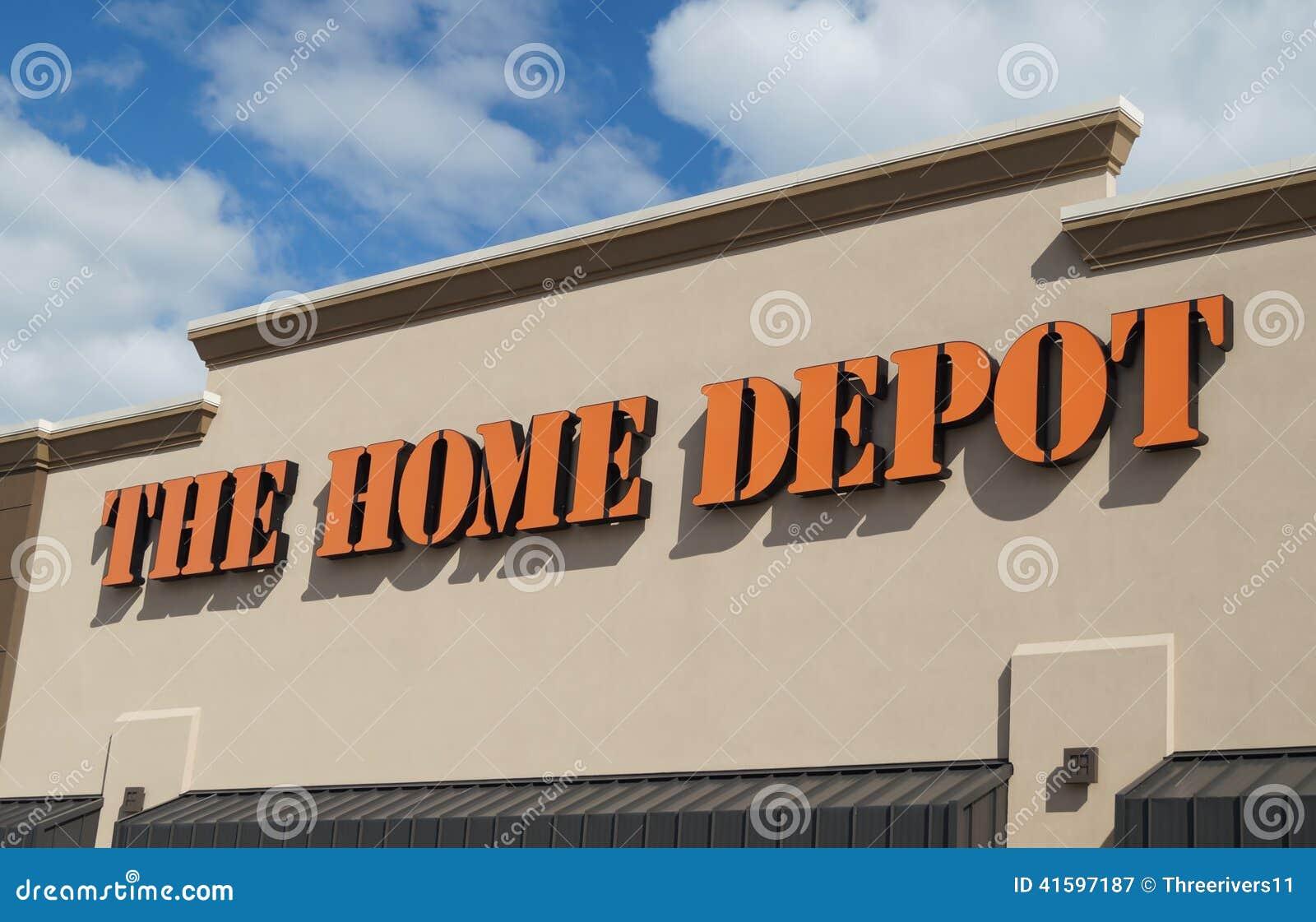 Home Depot przechuje