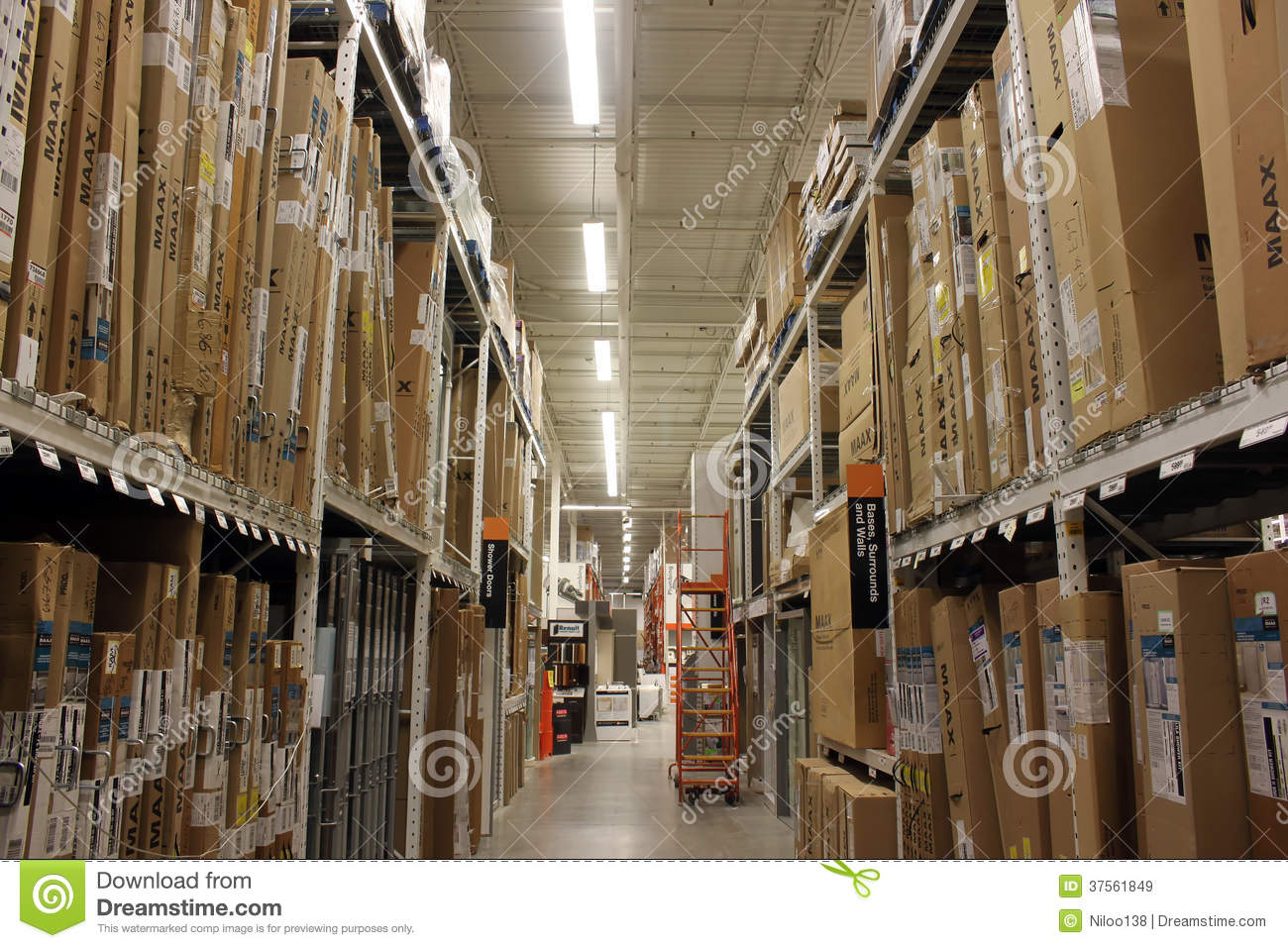 Home Depot Store Editorial Stock Image Image 37561849