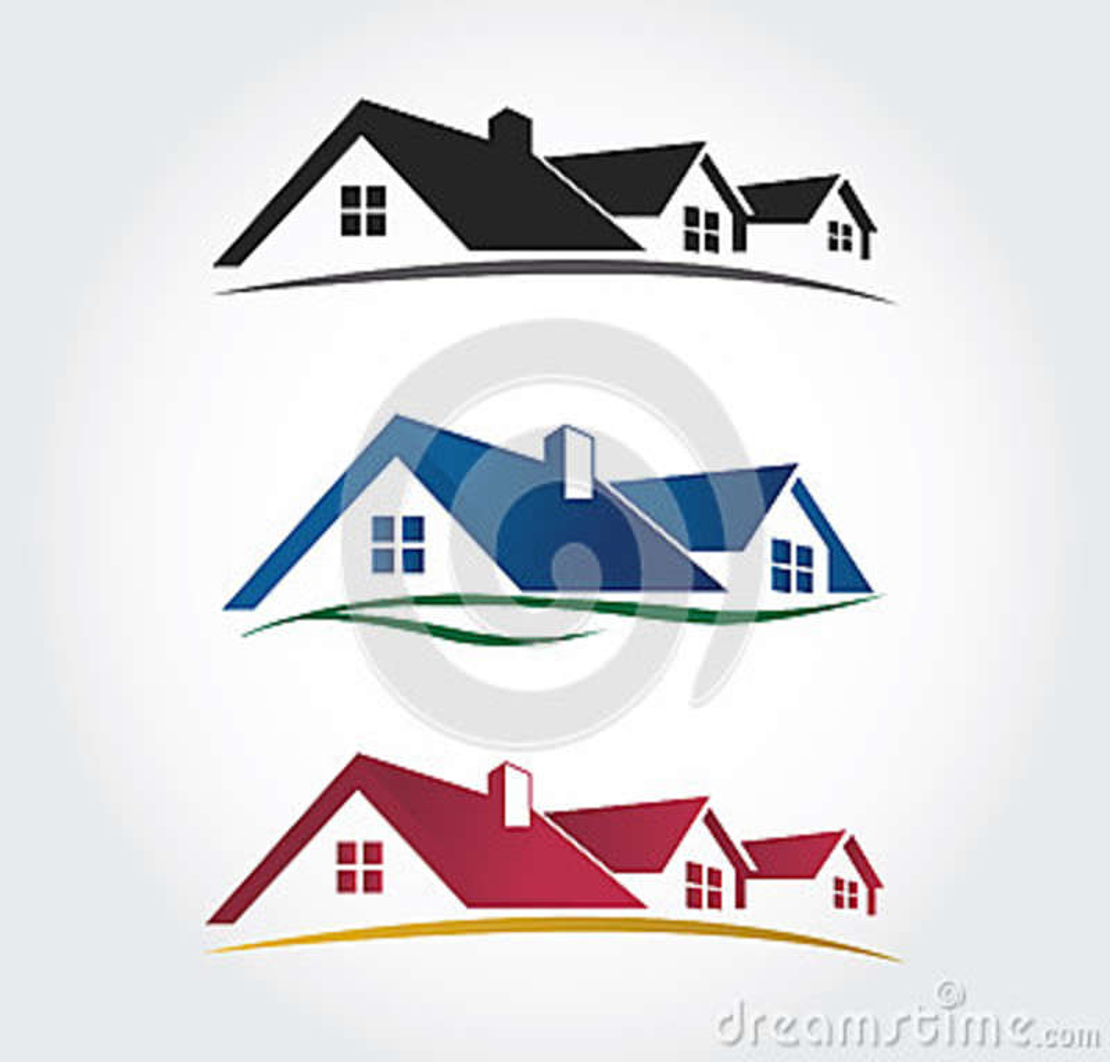 Home Design Icons Set , Roof Vector Set Illustration 39636792 - Megapixl