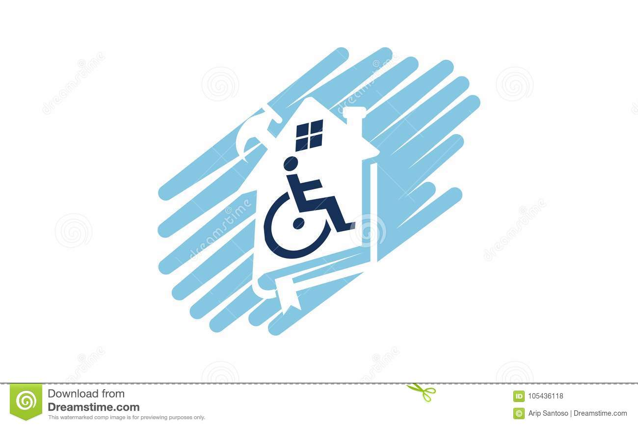 Home Disability Renovation Stock Vector Illustration Of
