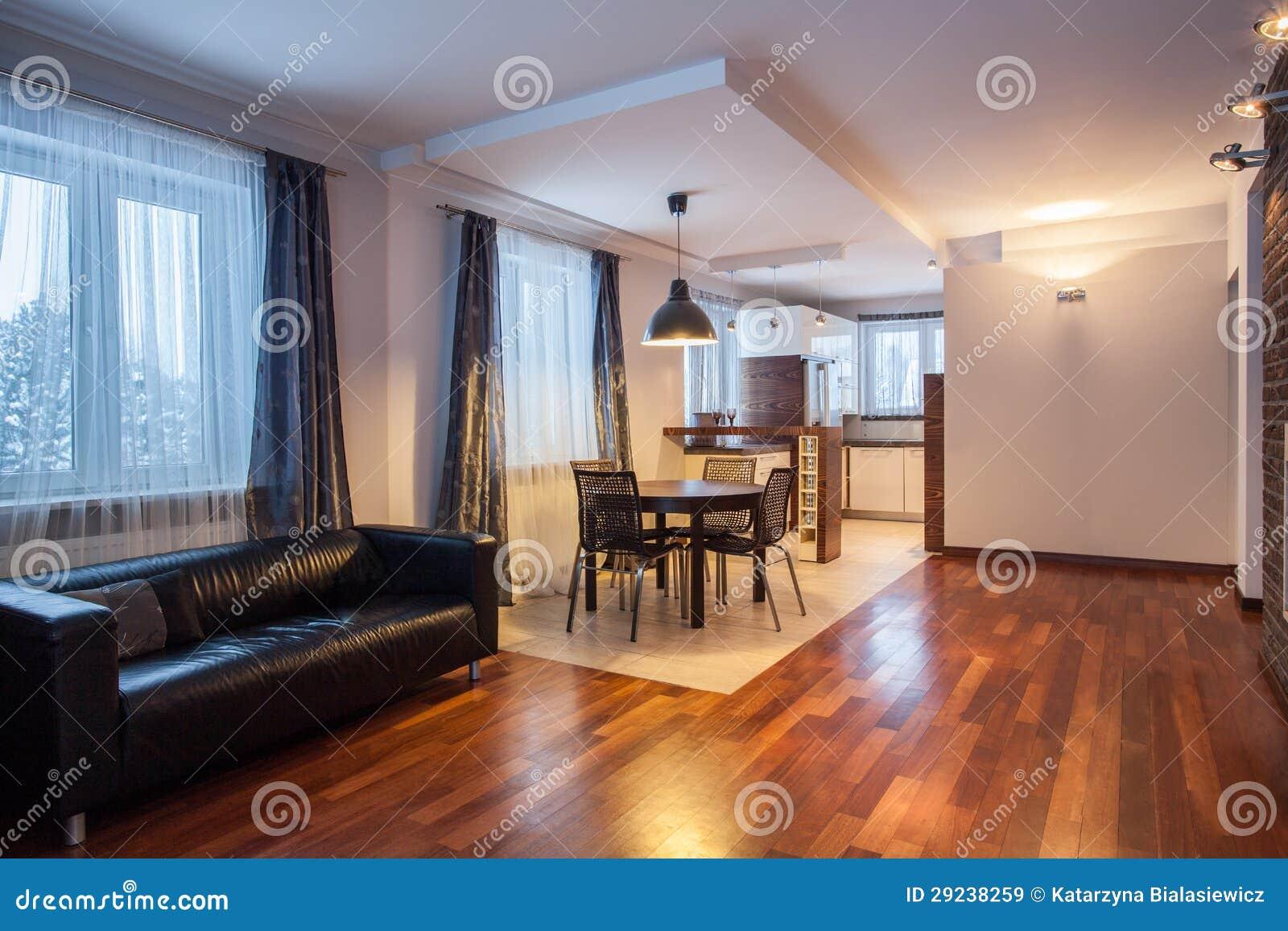 Download HOME Do País - Sala De Jantar E Sala De Visitas Imagem de Stock - Imagem de ninguém, furniture: 29238259