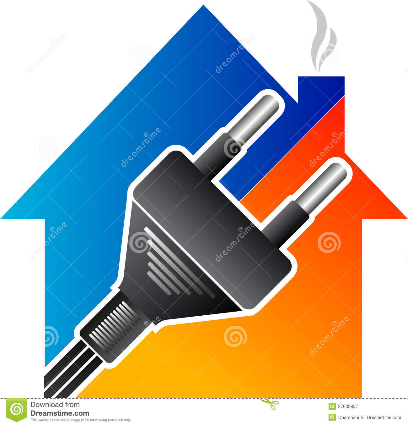 Home Electrical Plug Royalty Free Stock Photography - Image: 27633837