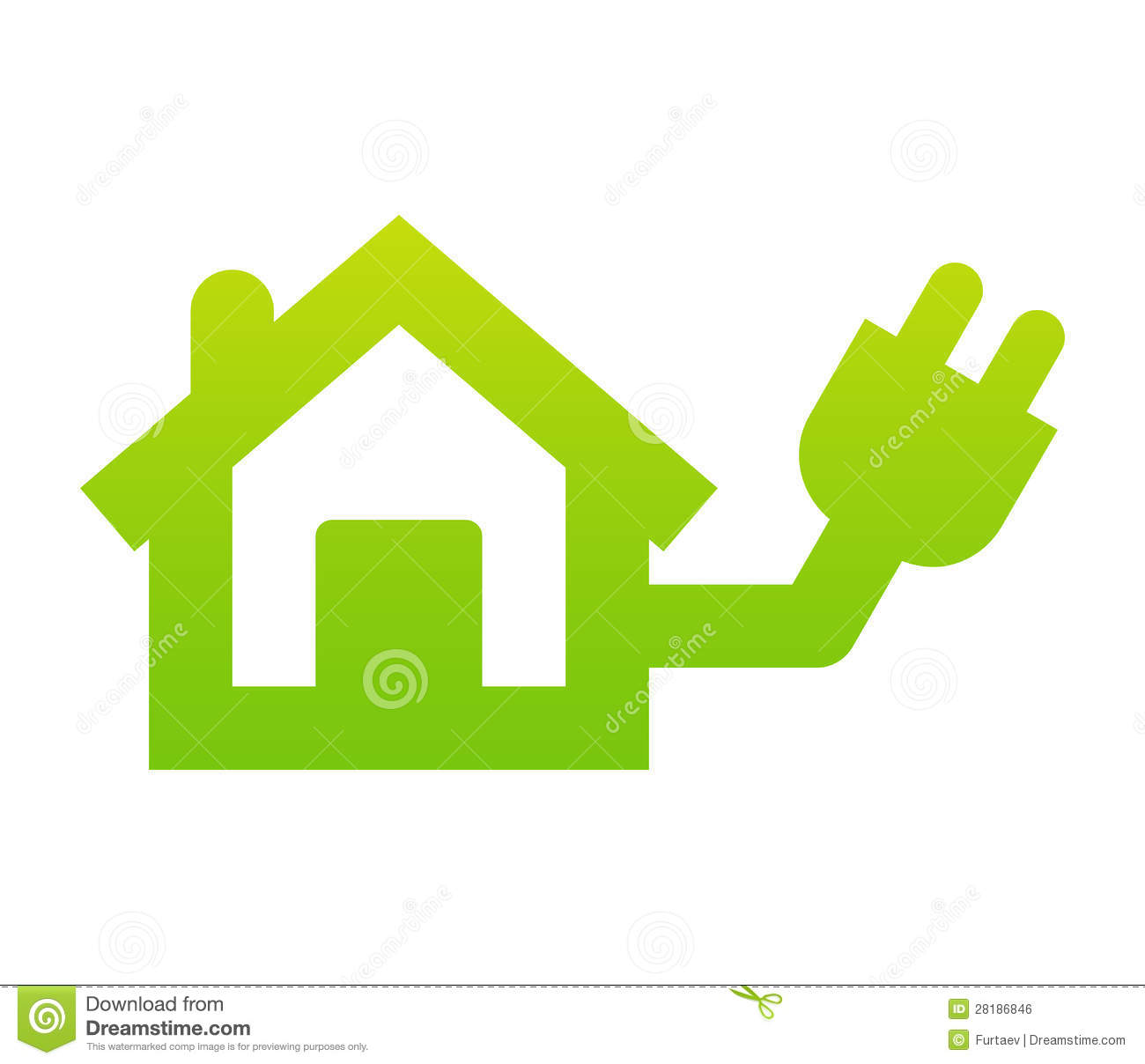 Home Electricity Icon Royalty Free Stock Image - Image ...