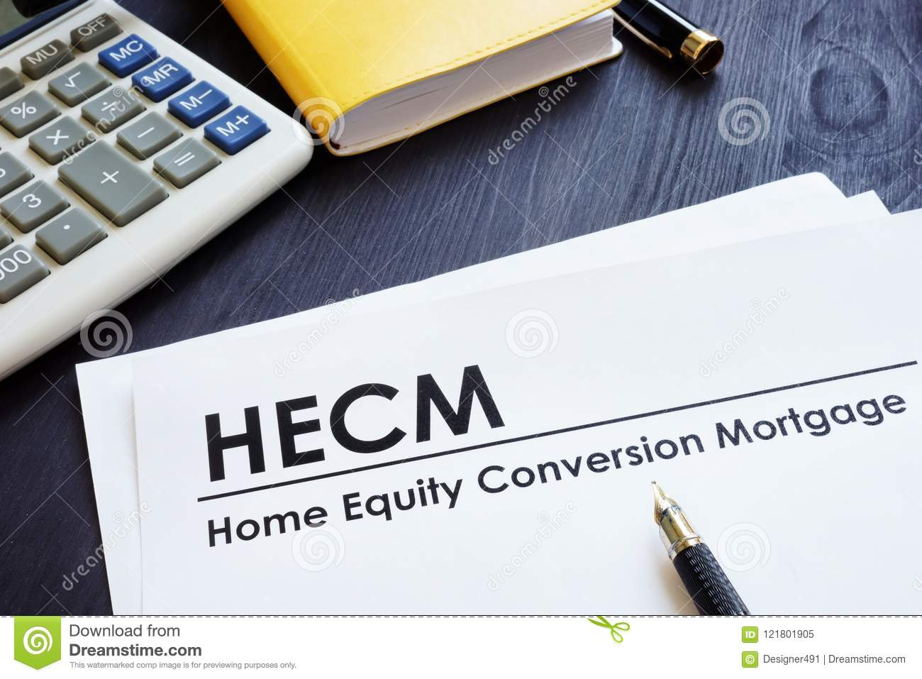 Home Equity Conversion Mortgage HECM.