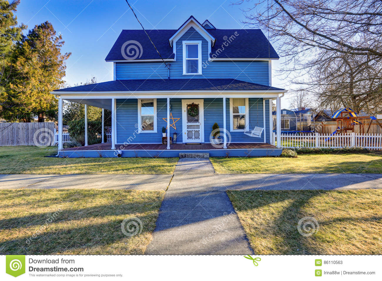 Home exterior with classic northwest charm royalty free for Northwest classic