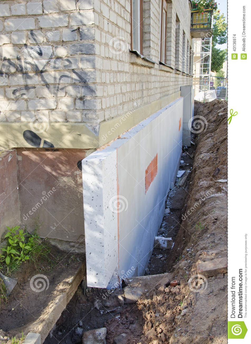 Home Foundation Concrete Construction And Thermal
