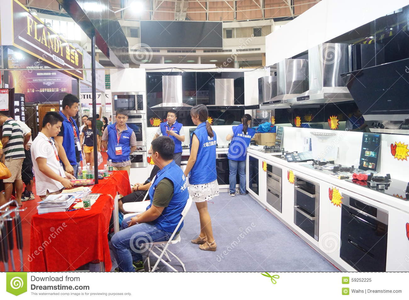 Home Furnishings Exhibition Sales Editorial Image Image