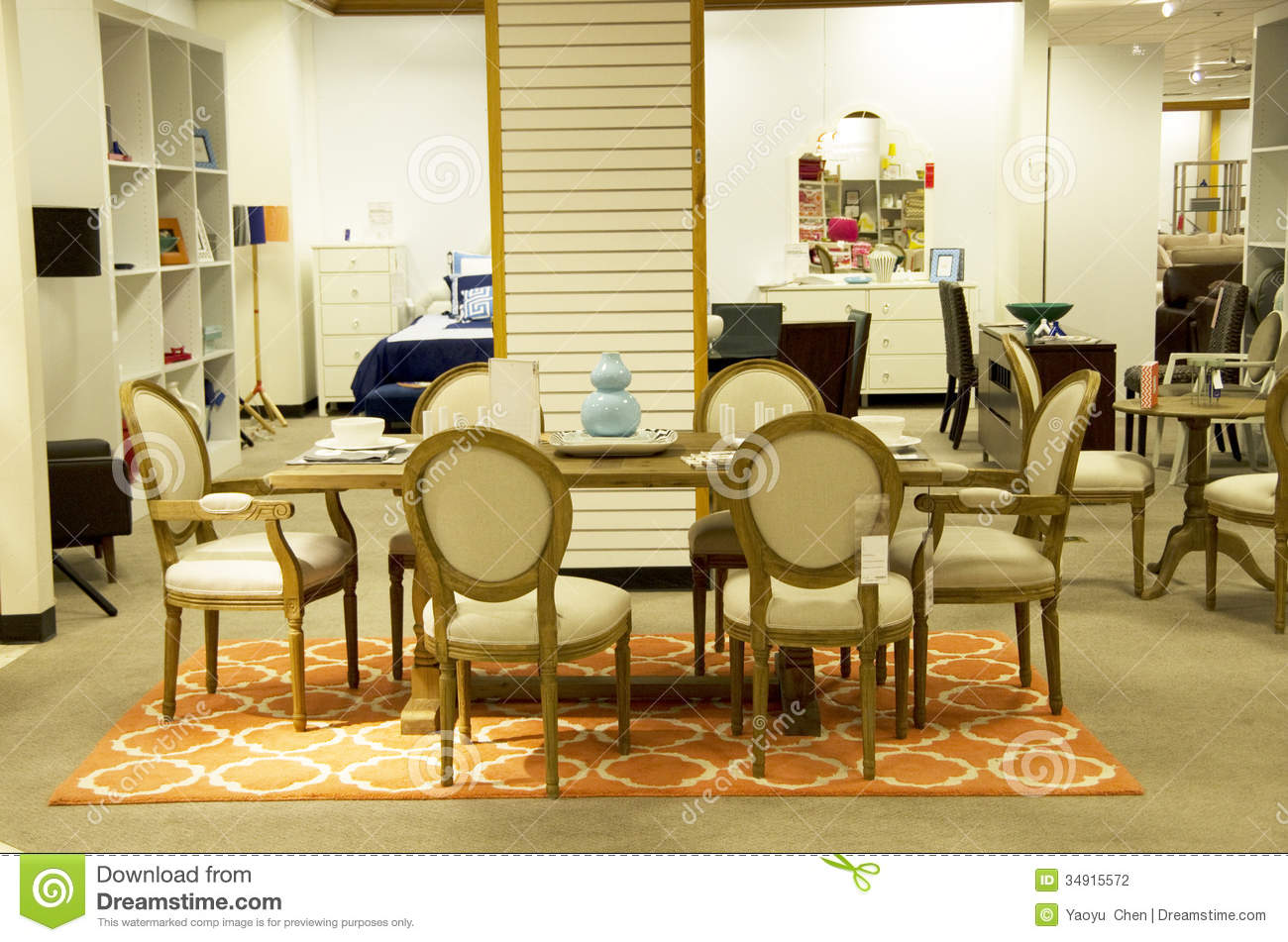 Home Furniture Department Store Editorial Photography Image 34915572