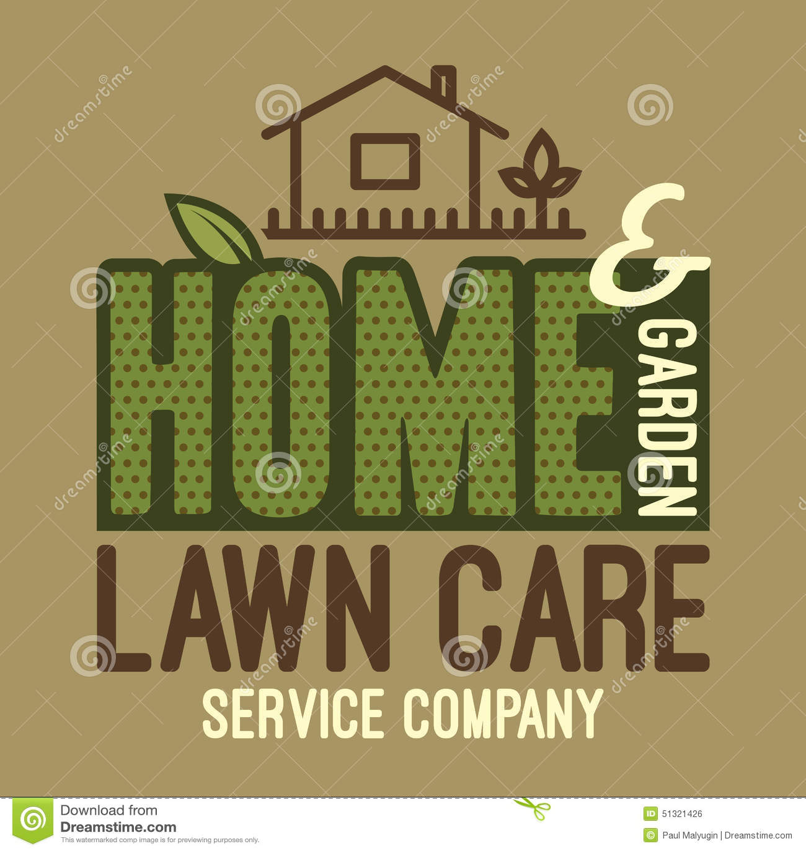Lawn Care Logo Vector Illustration 57371226