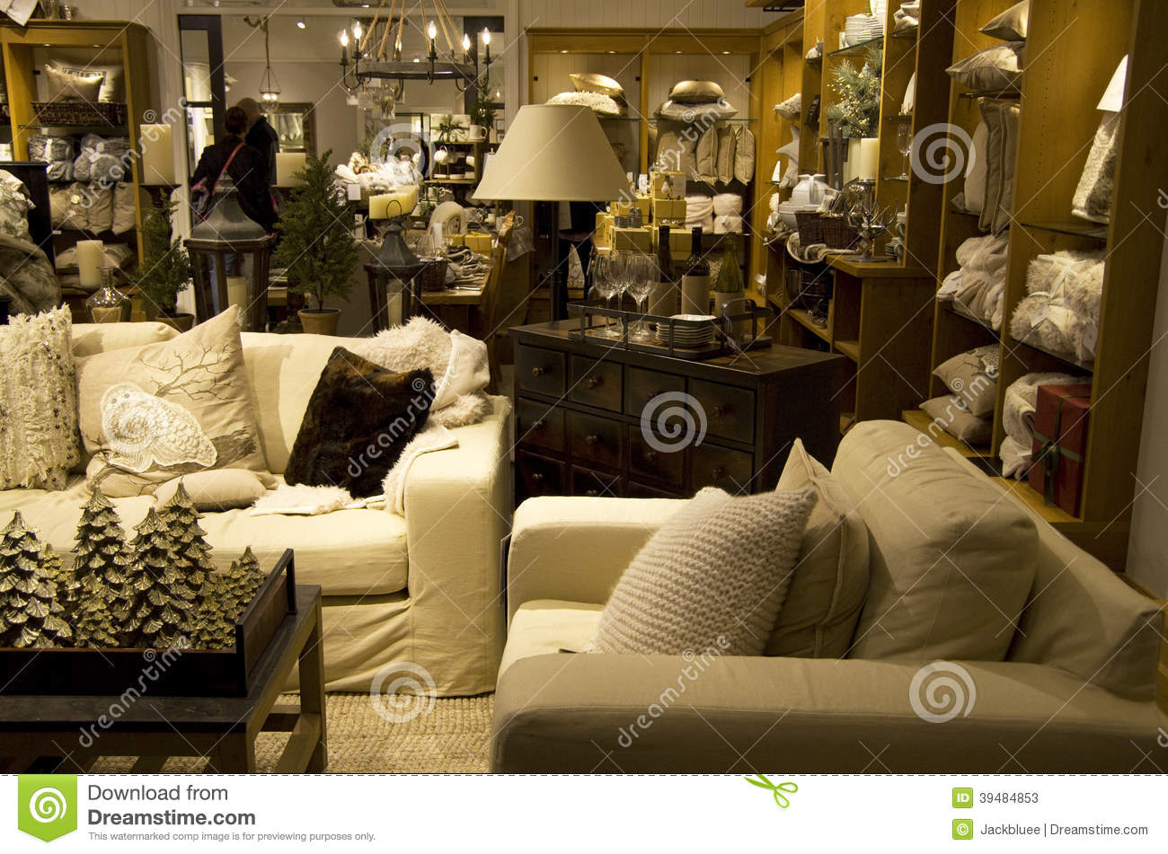 Home Goods Furniture Store Stock Image Image Of Furniture 39484853