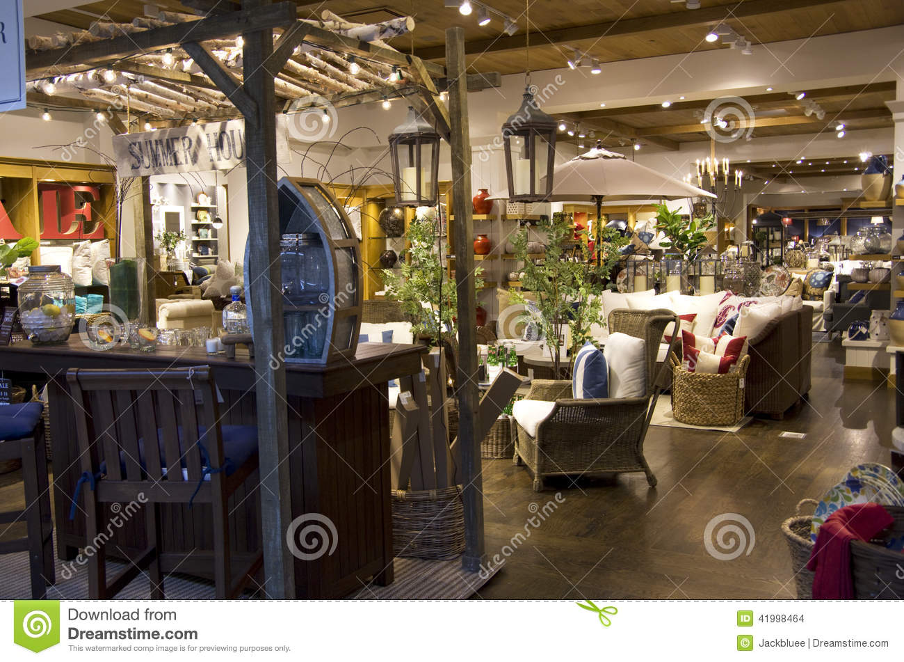 Home Goods Furniture Store Stock Photo Image Of Light 41998464