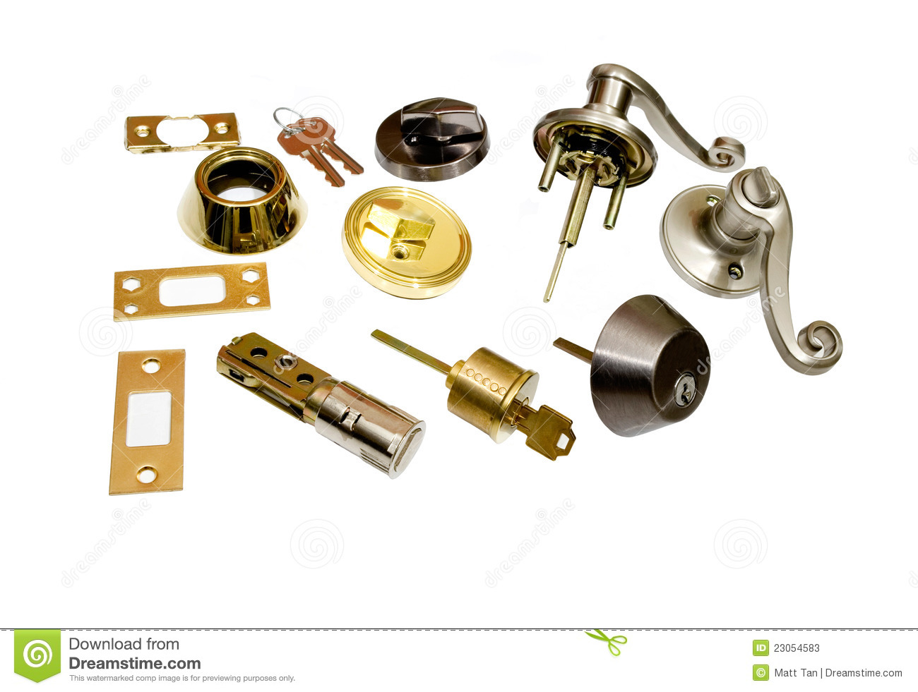 Home hardware locksmith doors and locks stock image for Home hardware doors