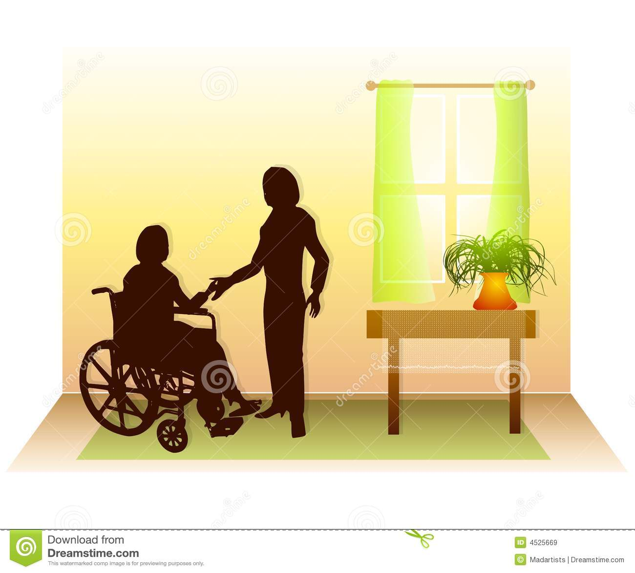 Home Healthcare Care Support 2 Royalty Free Stock Images - Image ...