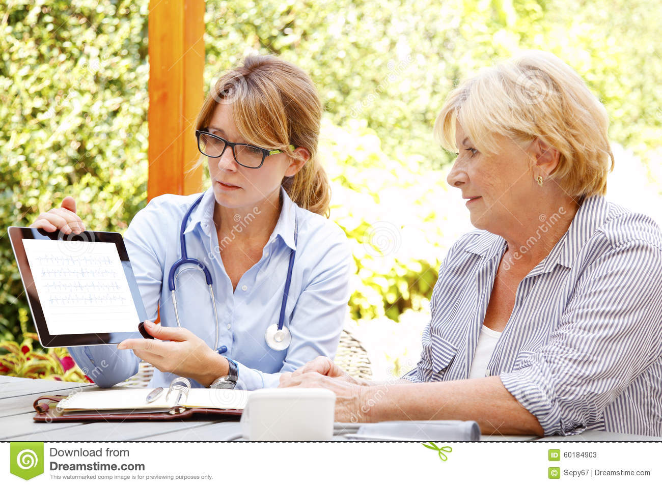 Home Healthcare Stock Photo Image 60184903