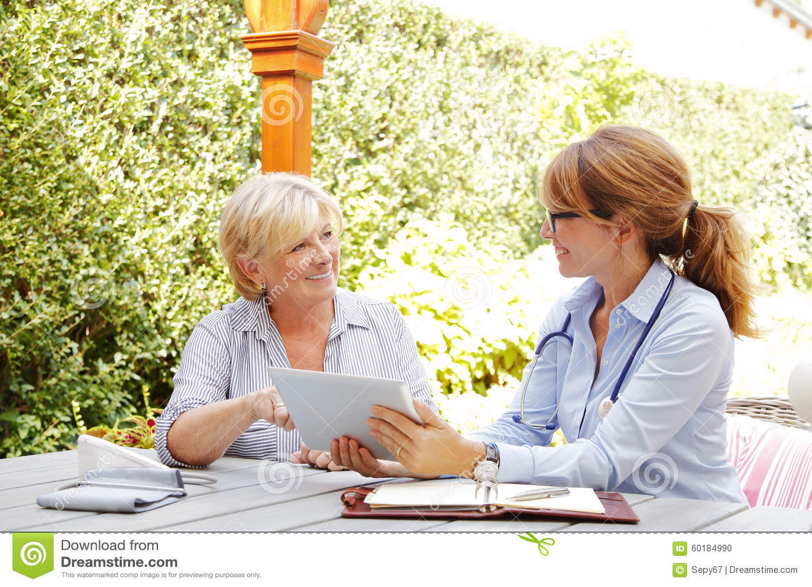 Home Healthcare Stock Photo Image 60184990