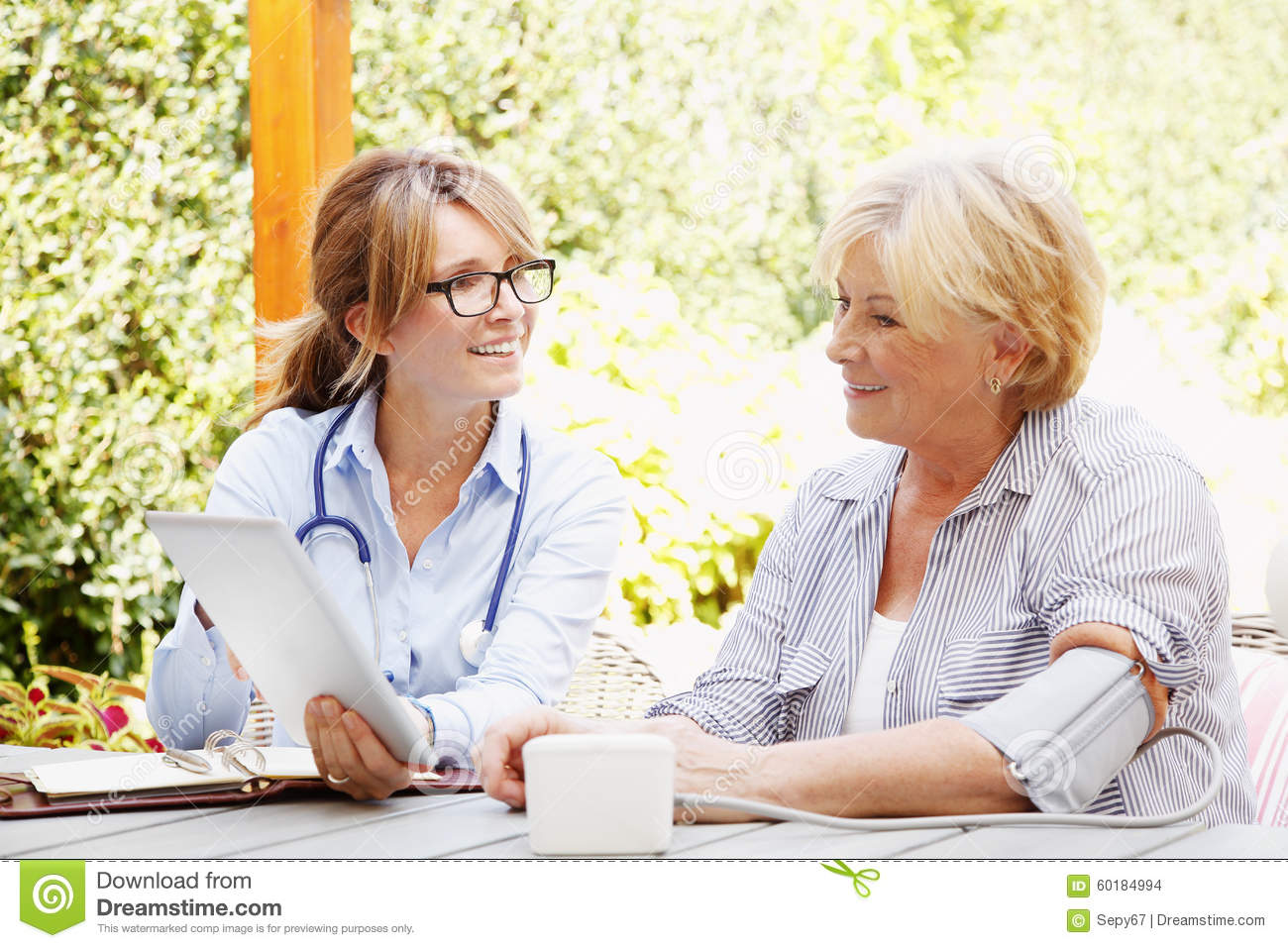 Home Healthcare Stock Photo Image 60184994