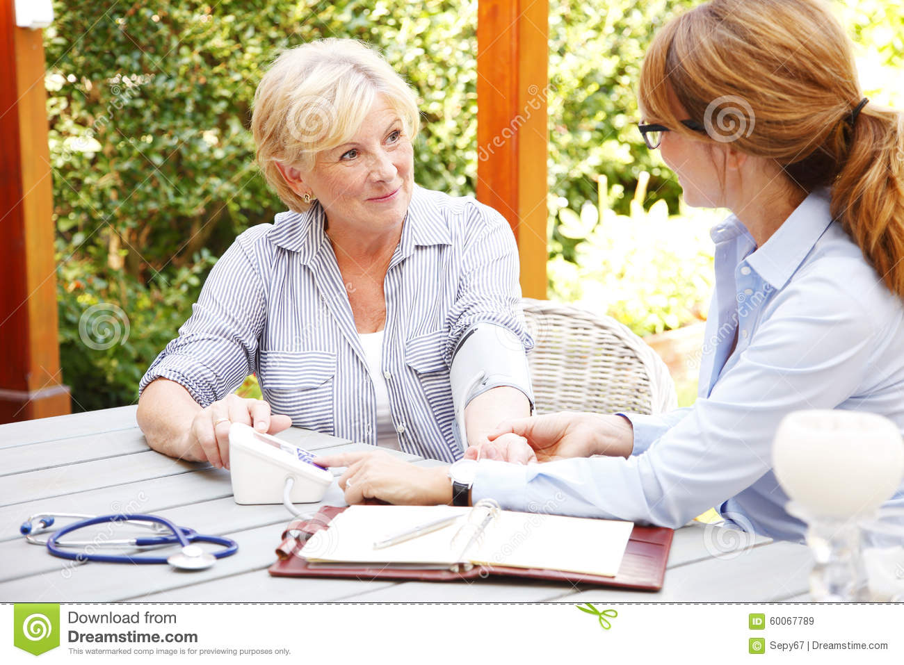 Home Healthcare Stock Photo Image 60067789
