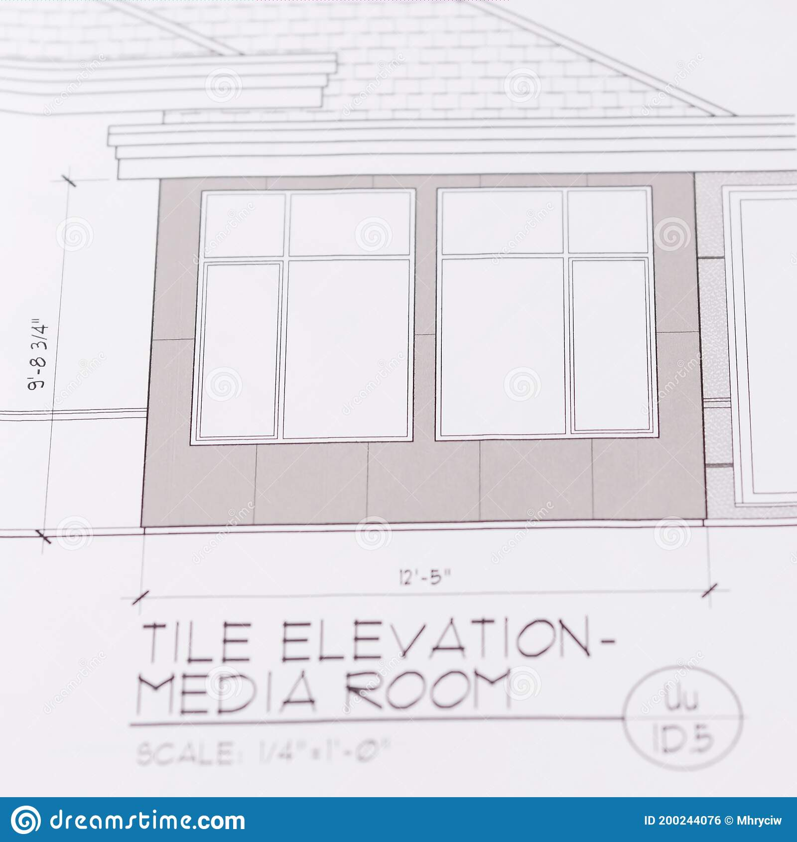 home house construction plan drawing details architectural plans showing exterior wall section roof detail 200244076