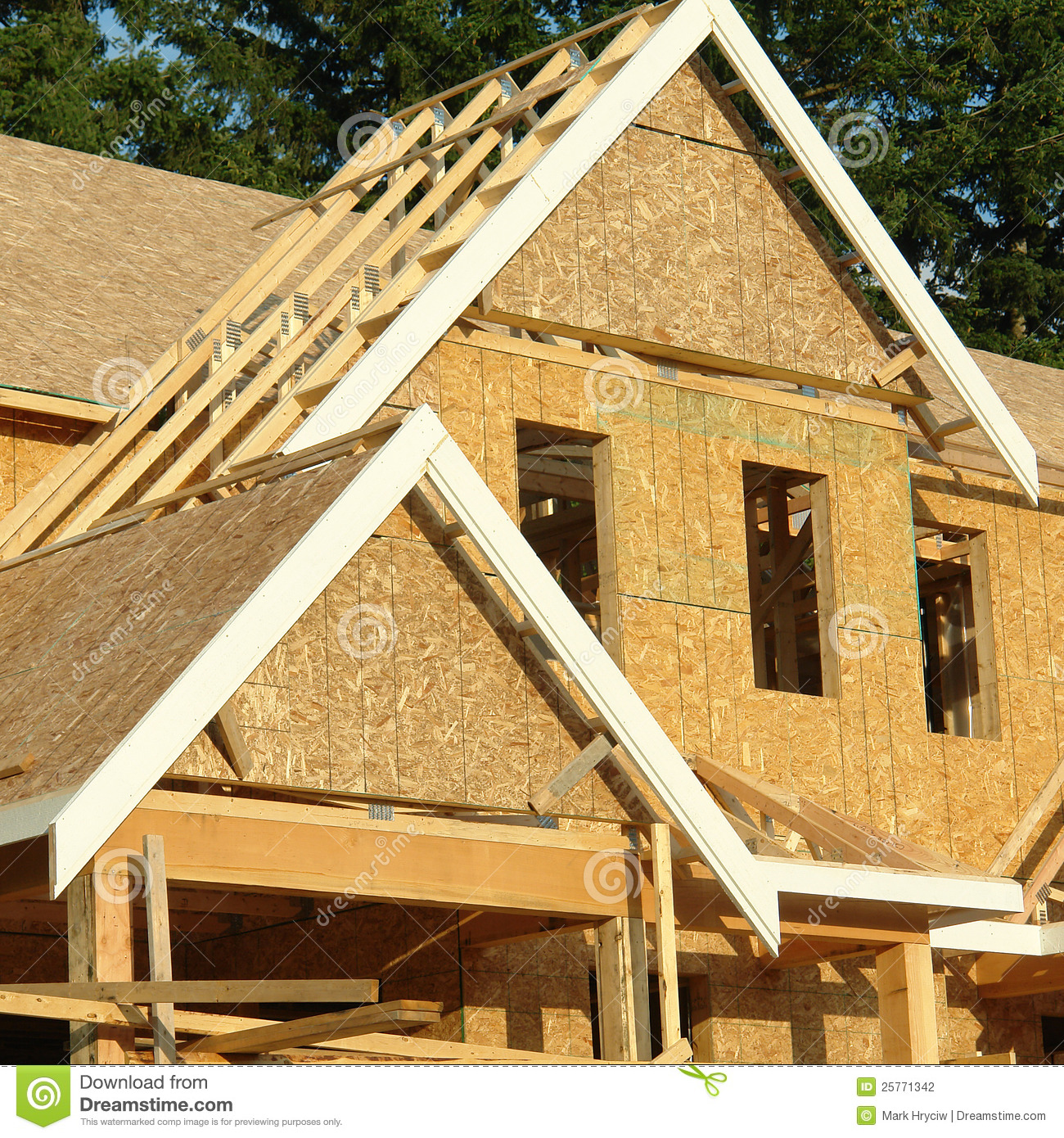 Home House Exterior Framing