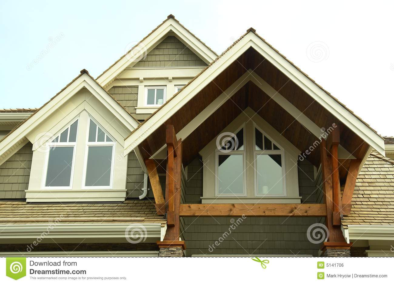 Home house exterior windows royalty free stock image image 5141706 - Exterior home windows ...