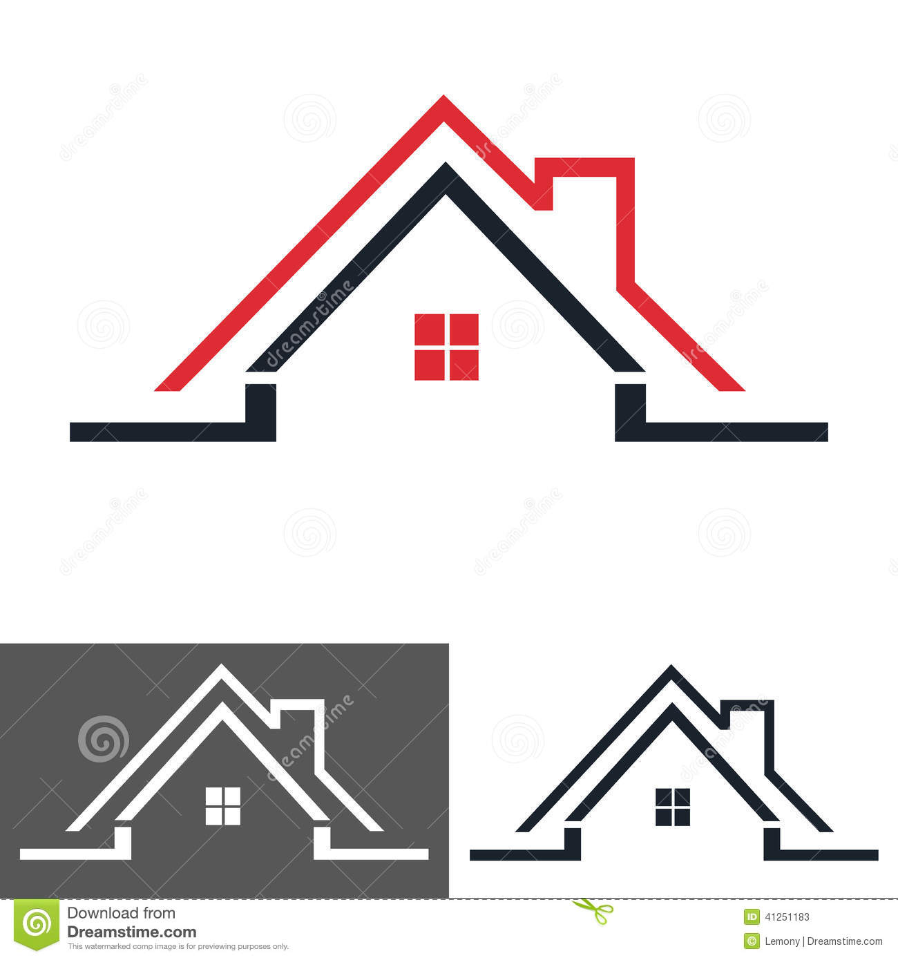 Home Remodeling Logo Design Home House Icon Logo Stock Vector Image 41251183 A Abstract Logo