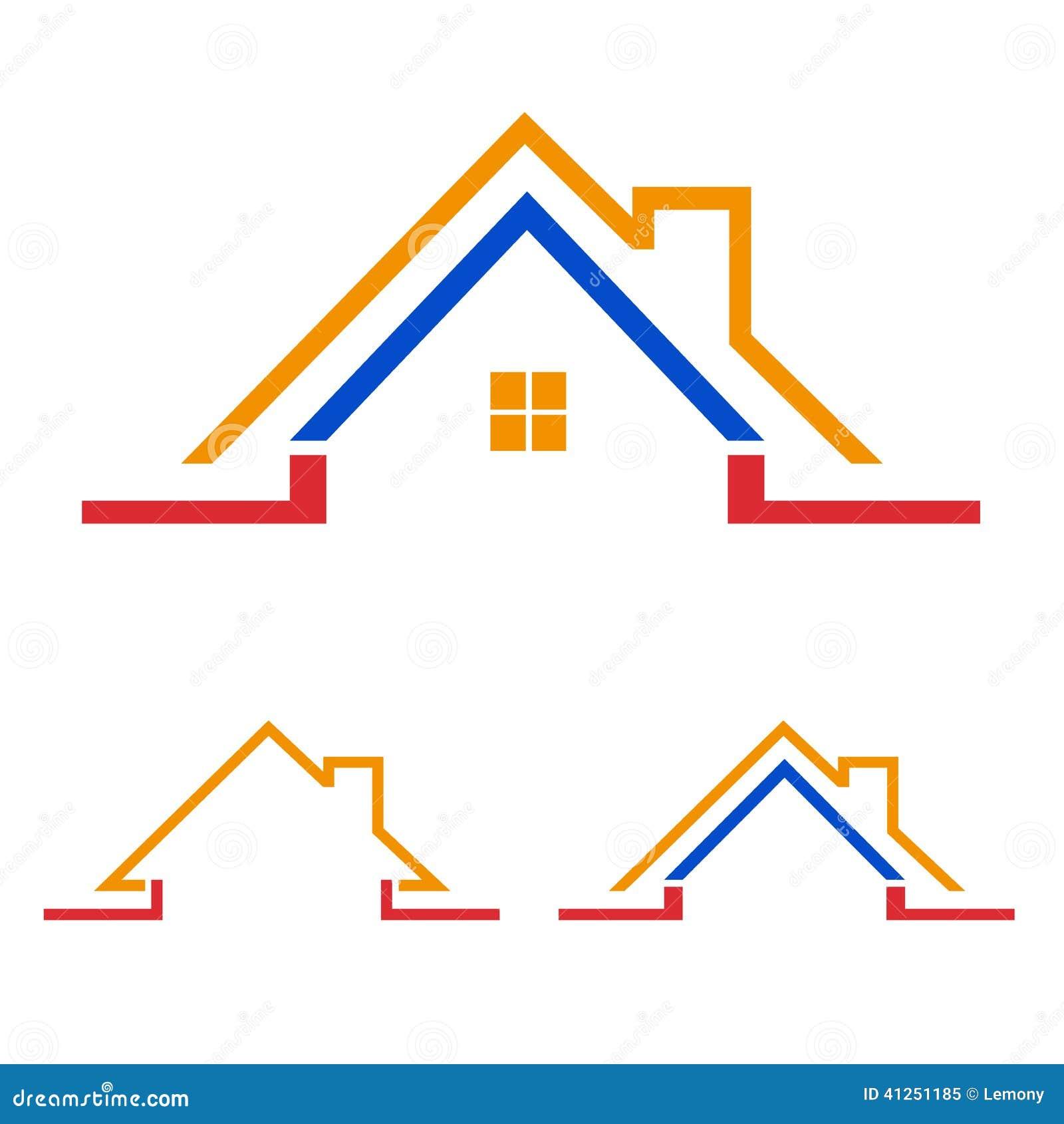 Home, House Icon, Logo Stock Vector - Image: 41251185