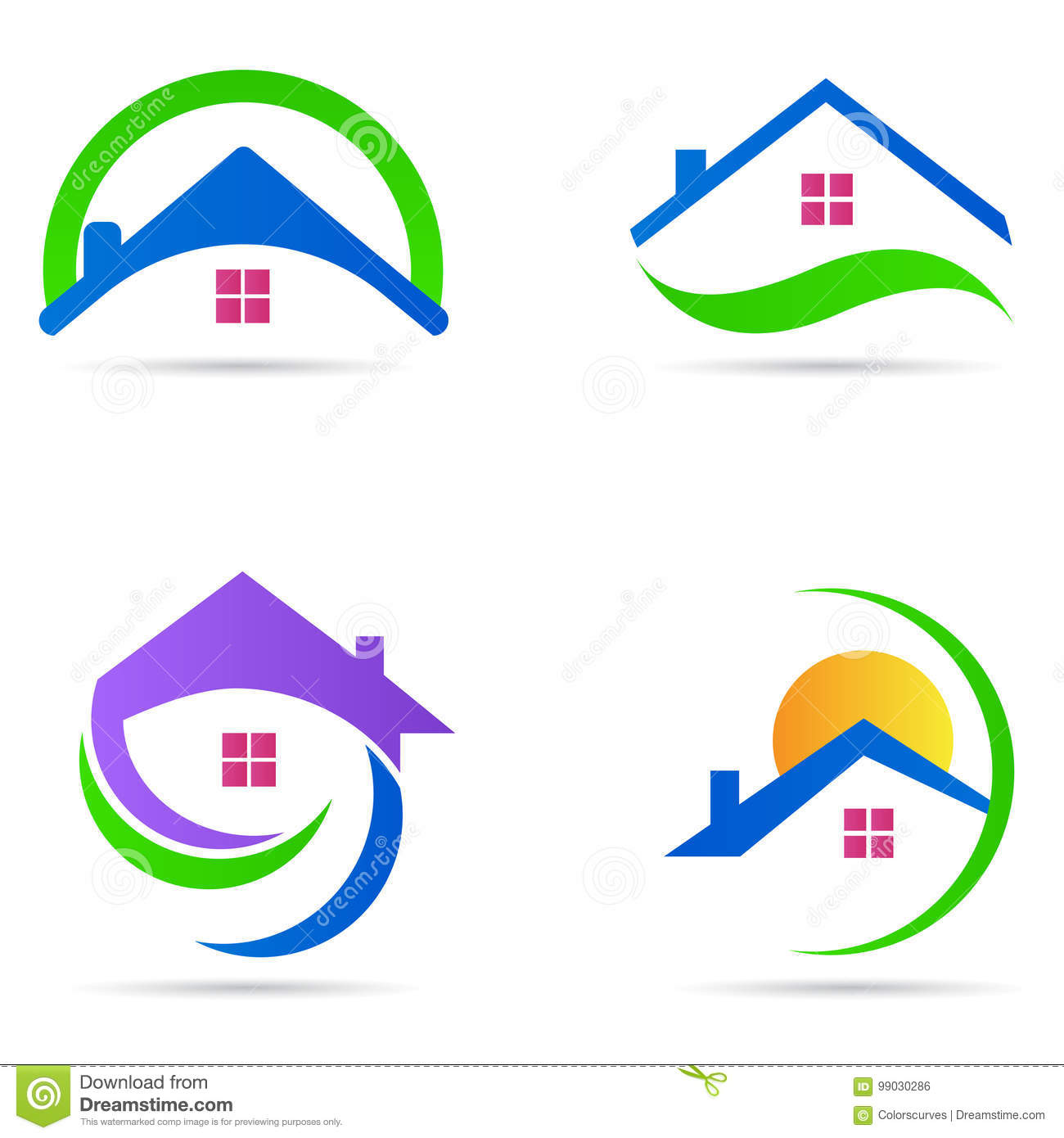 Estate stock illustrations 176168 estate stock illustrations home house logo real estate construction residential symbol vector icon set home house logo real biocorpaavc Image collections