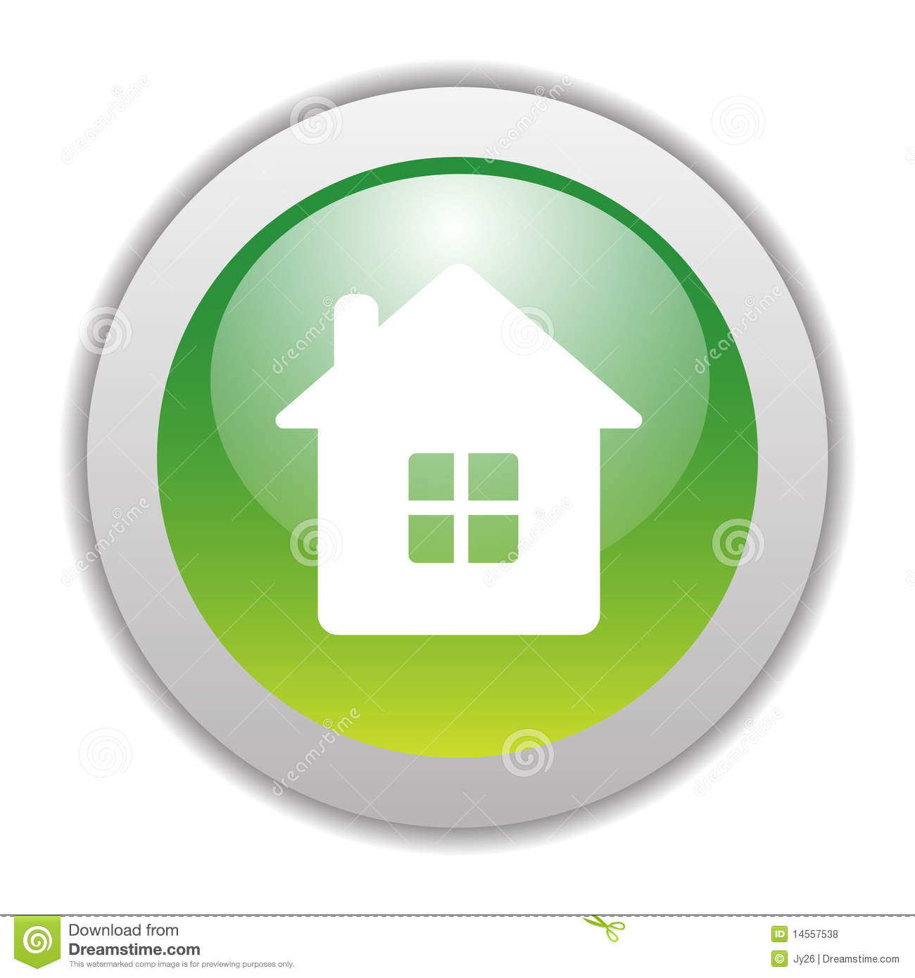Green Home Clipart