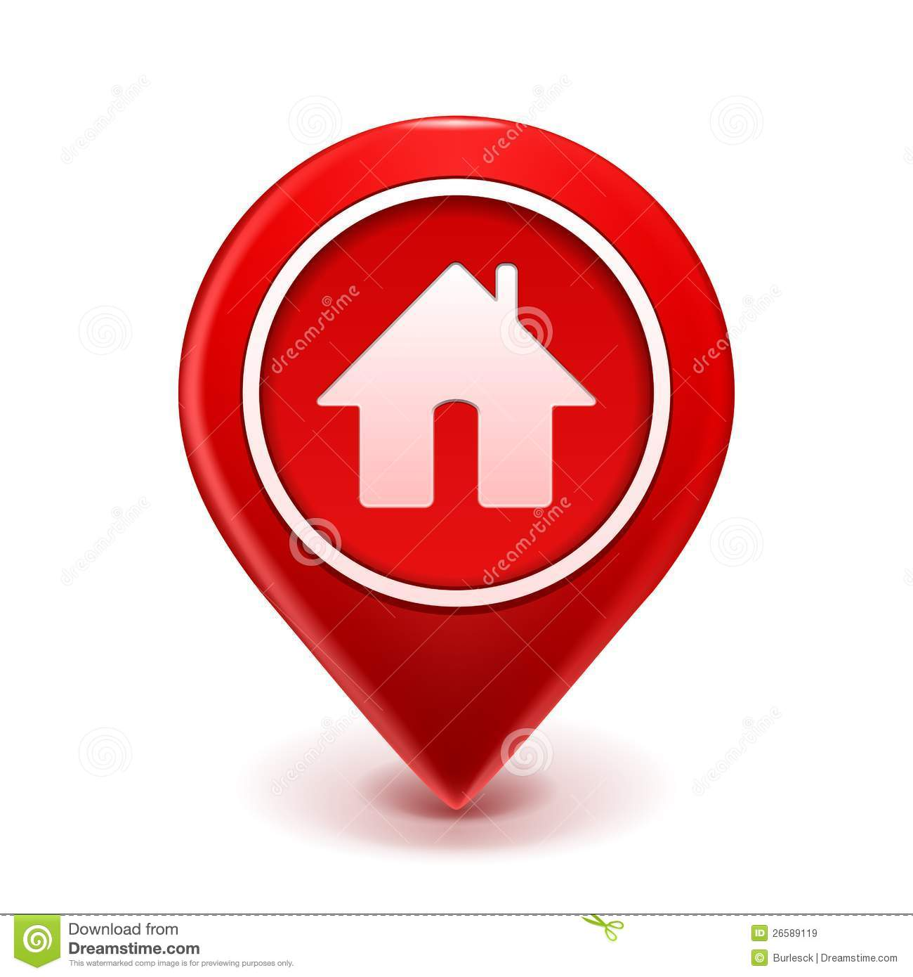 Home Design With Plans Pictures Home Icon Pin Royalty Free Stock Images Image 26589119