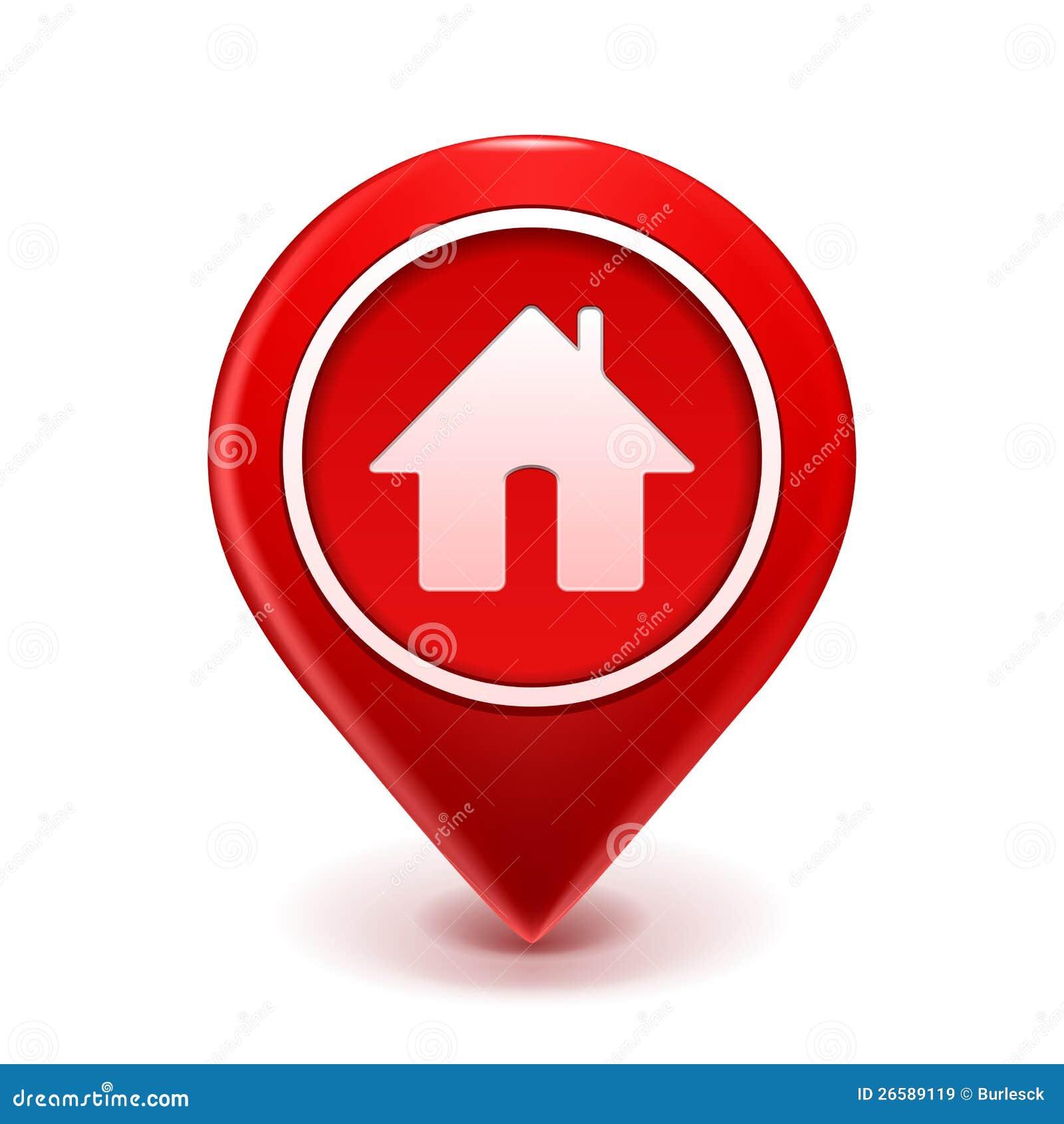 home icon pin 26589119
