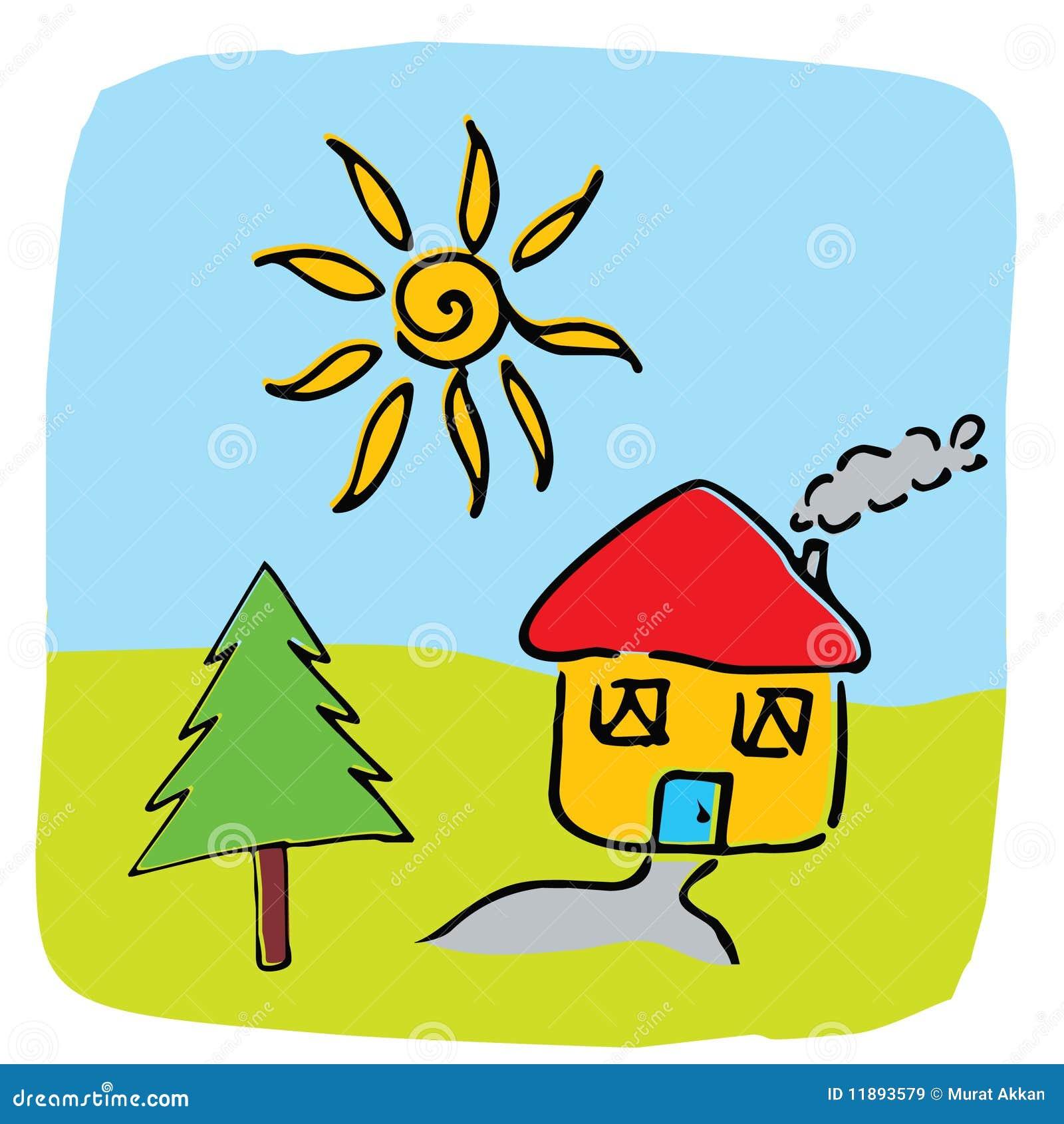 Home illustrationvektor