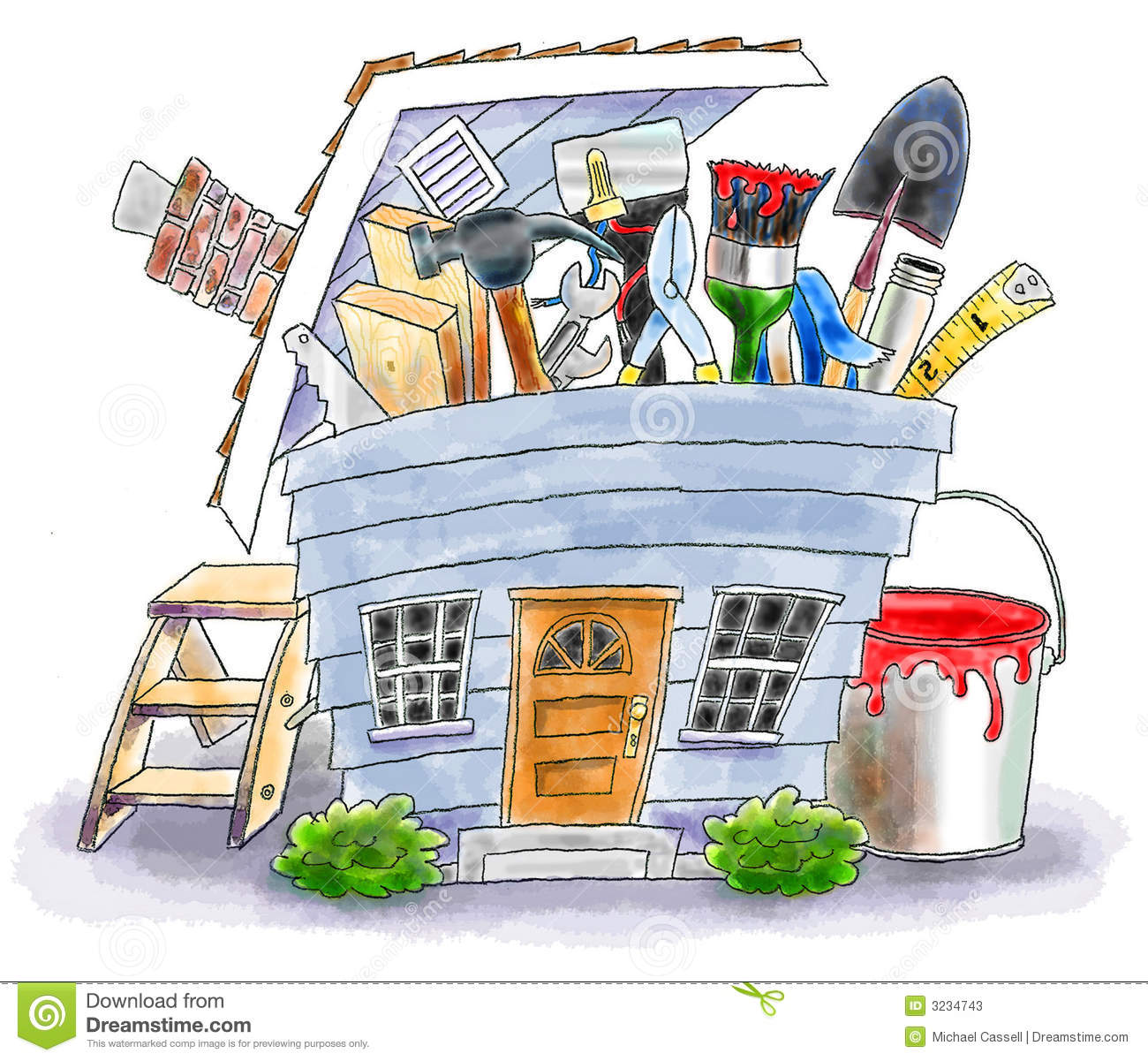 Home Improvement Stock Photos - Image: 3234743
