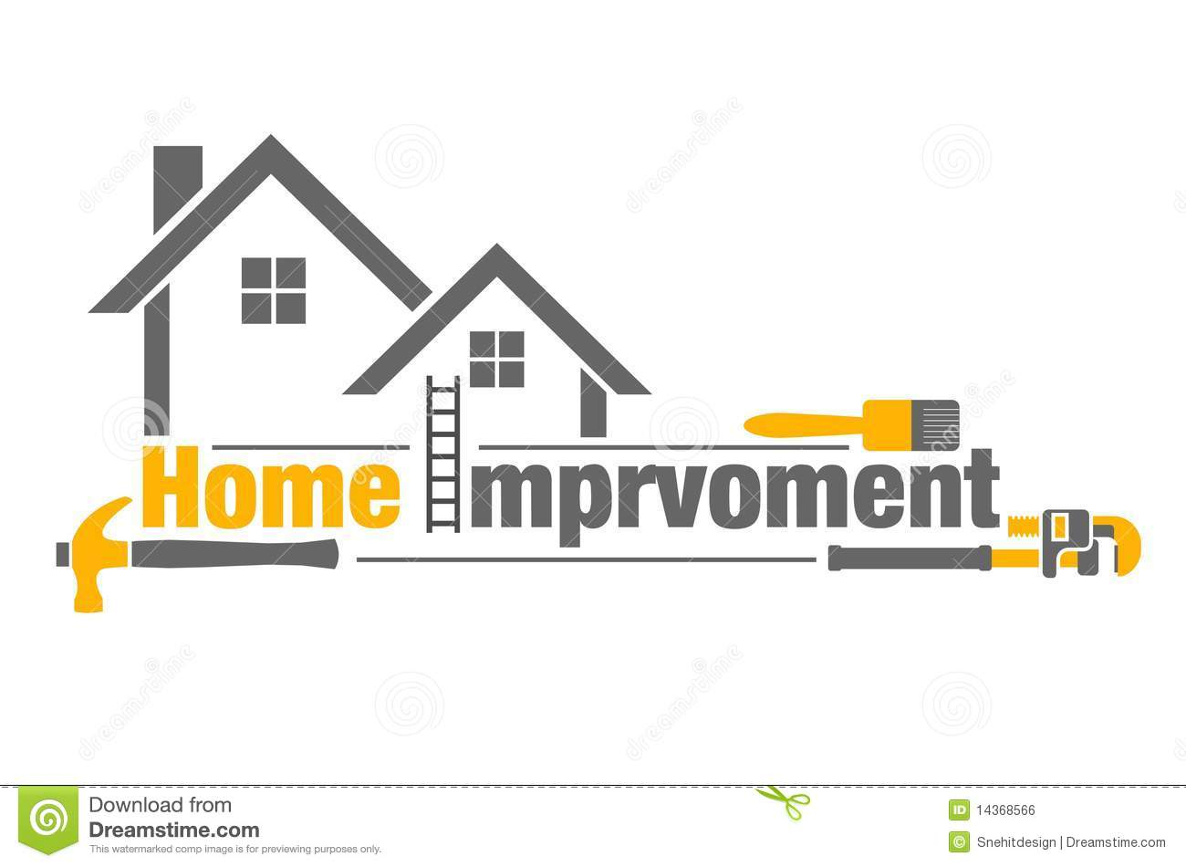 Home improvement icon. Home Improvement Icon Royalty Free Stock Image   Image  14368566