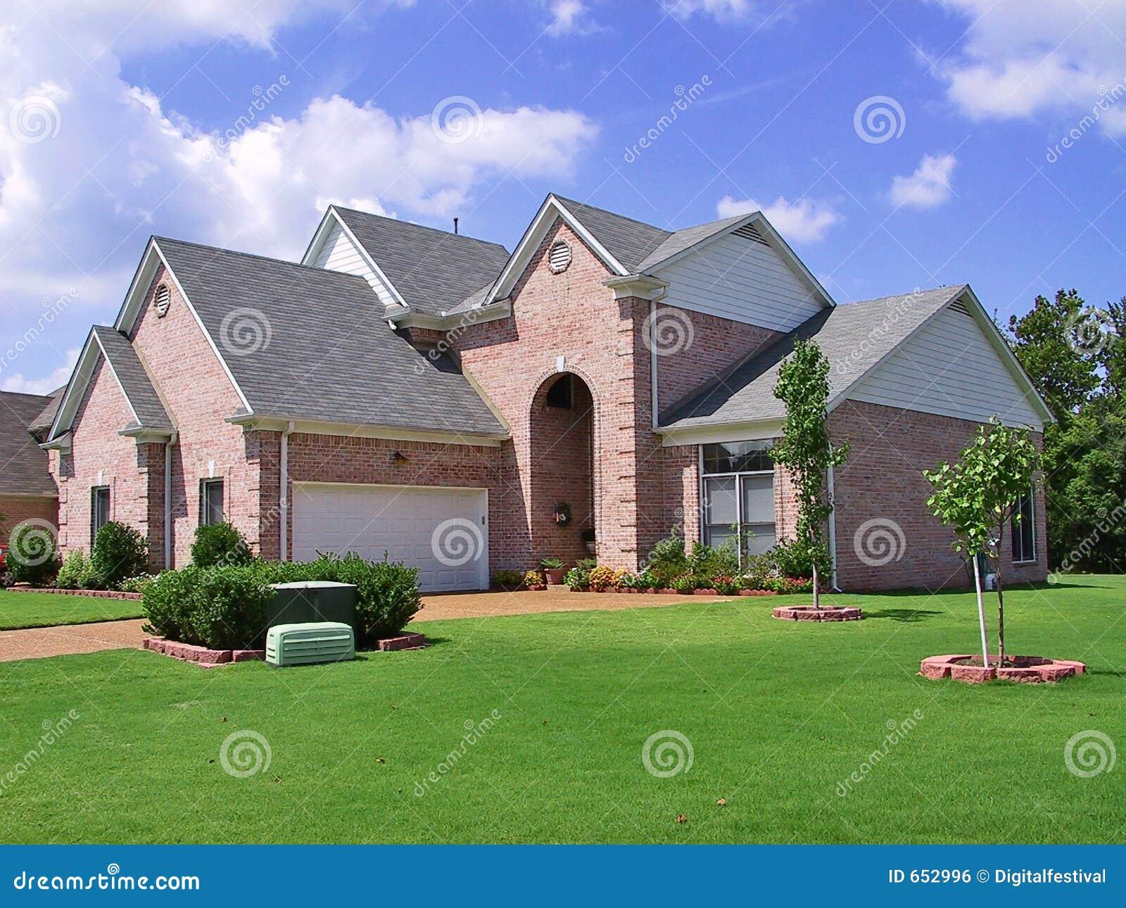 Home individuellt rikt förorts-