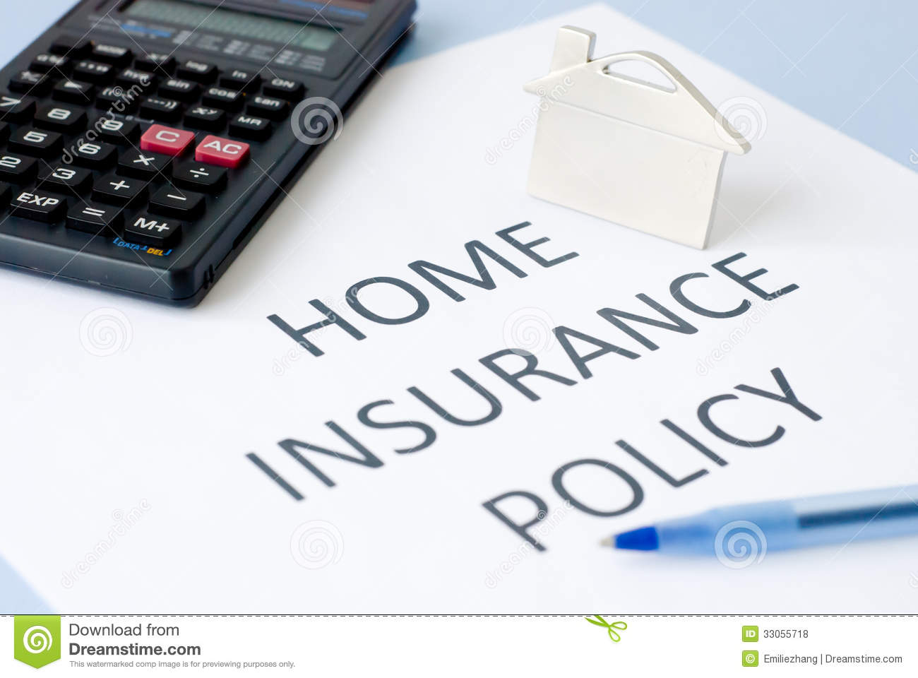 Home Insurance Royalty Free Stock Photos Image 33055718