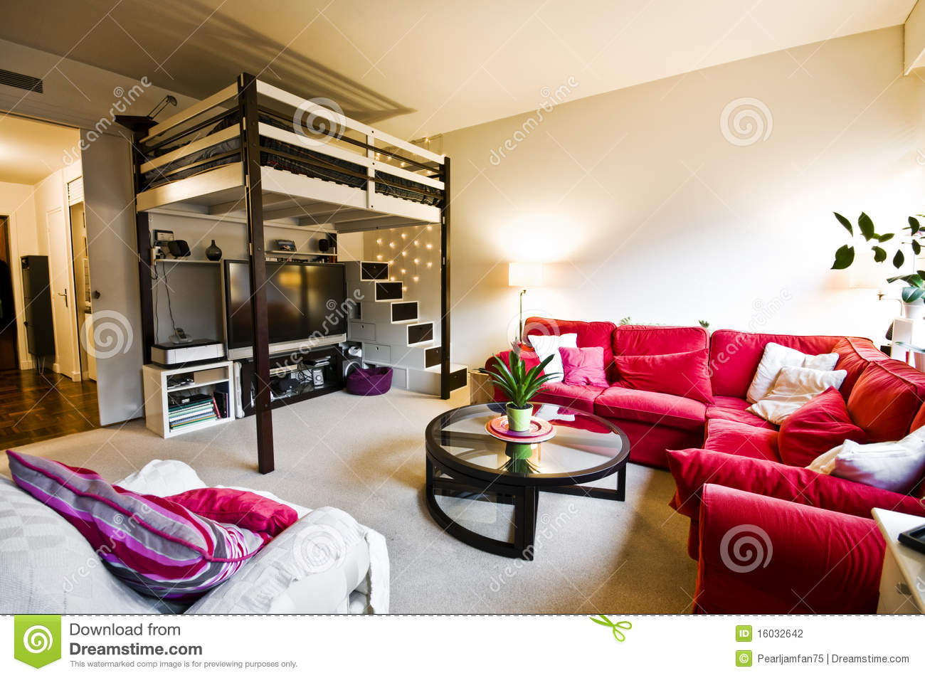 Download Home Interior Stock Photo. Image Of French, Couch, Apartment    16032642