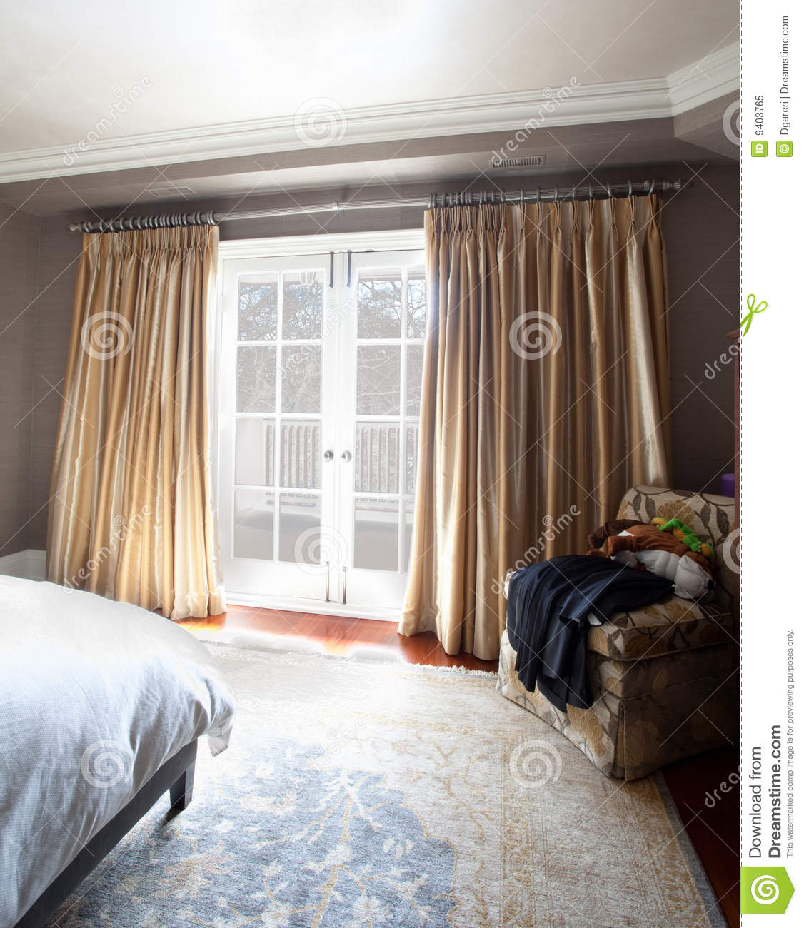 Home interior bedroom royalty free stock photo image for Well decorated bedroom